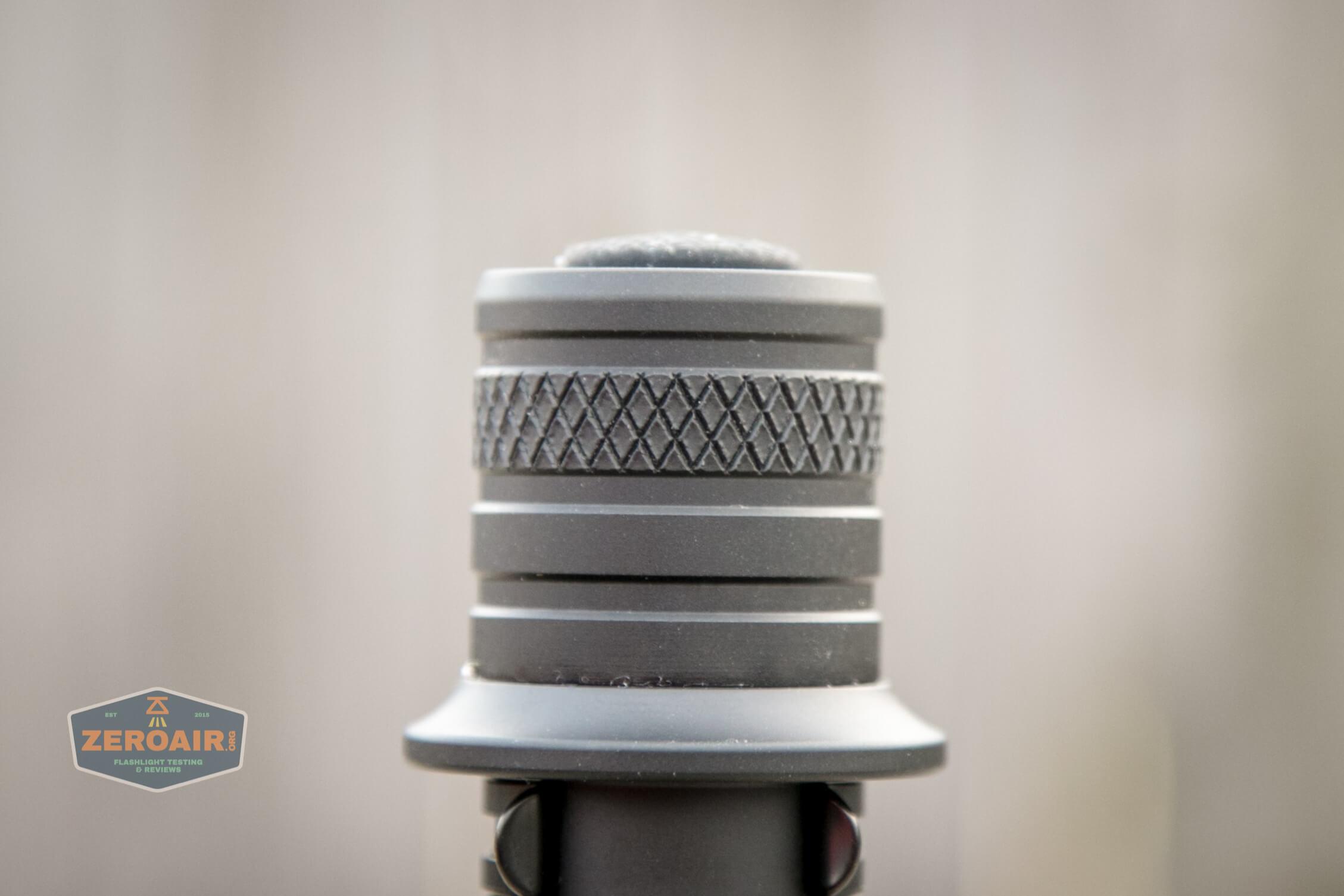 acebeam l35 flashlight tailcap knurling