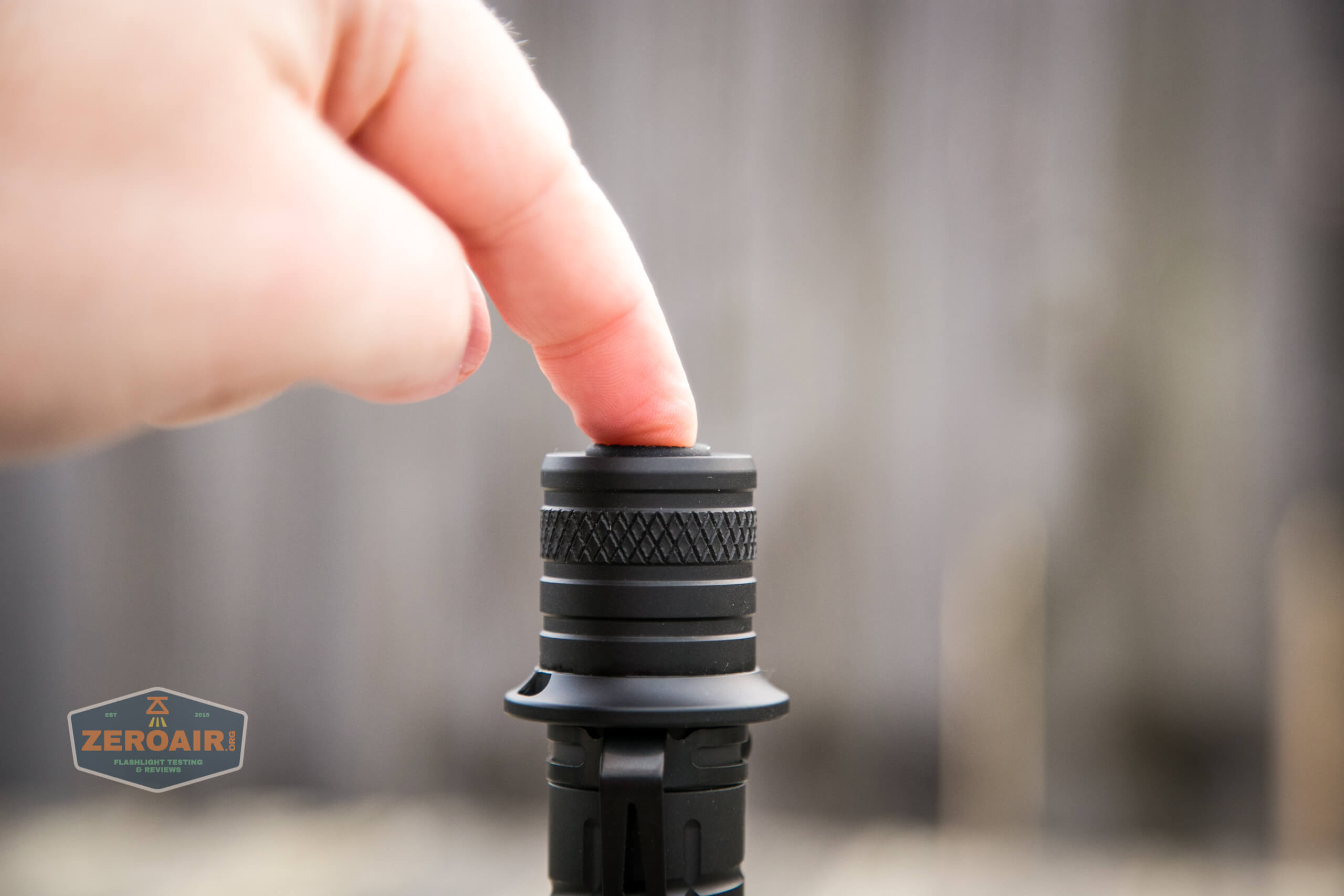 Acebeam L35 brightest tactical flashlight actuation