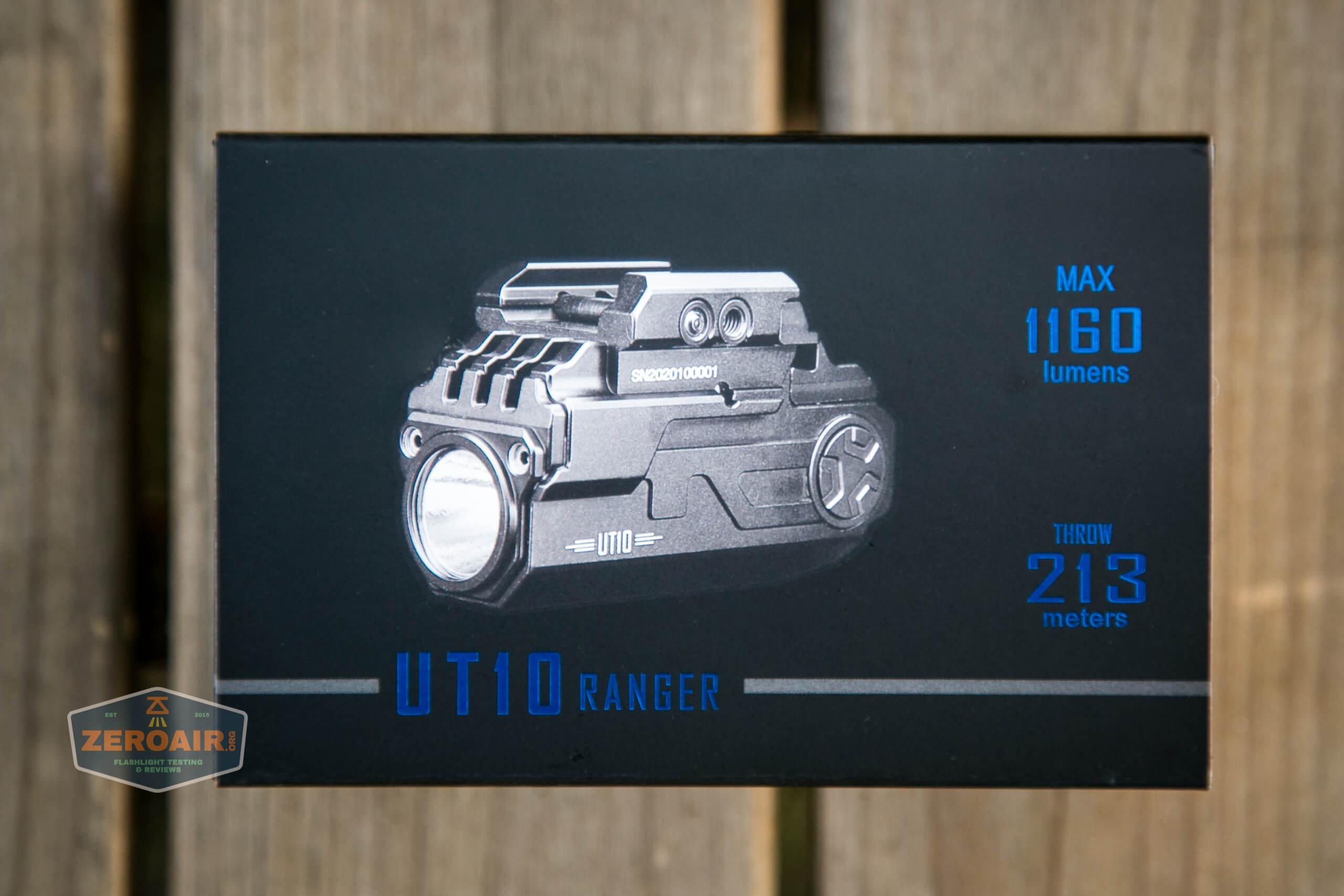 imalent ut10 tactical weapon flashlight box