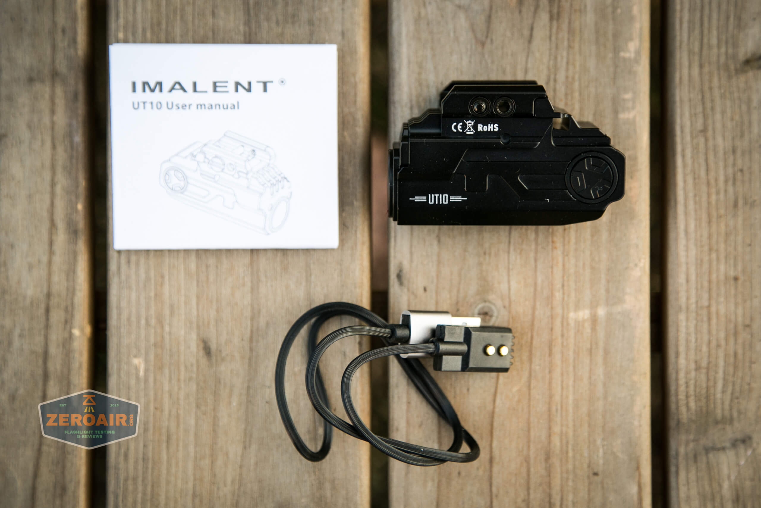 imalent ut10 tactical weapon flashlight what's included