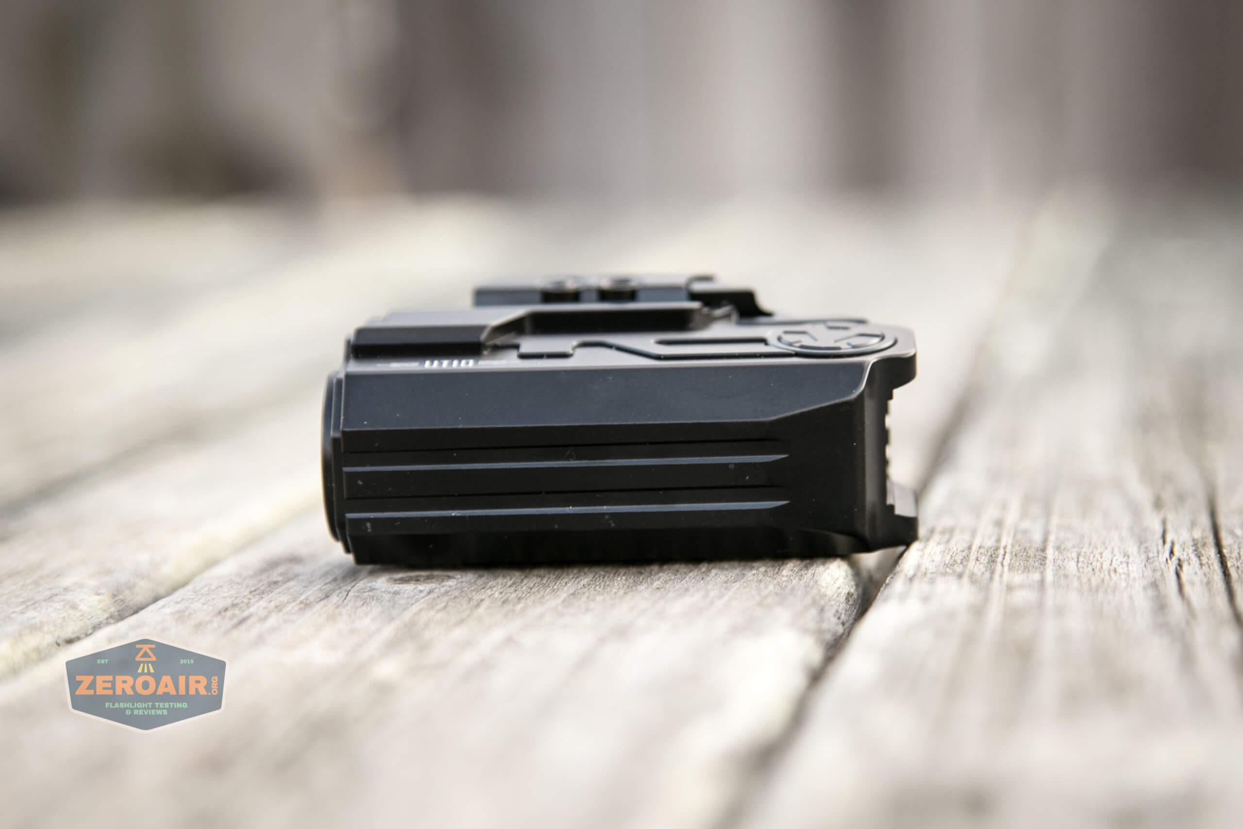 imalent ut10 tactical weapon flashlight exposed bottom