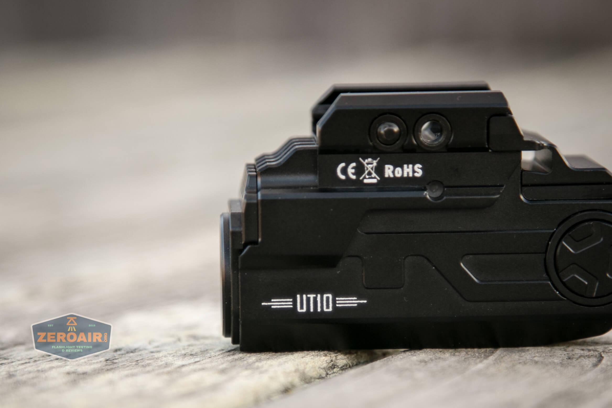 imalent ut10 tactical weapon flashlight branding