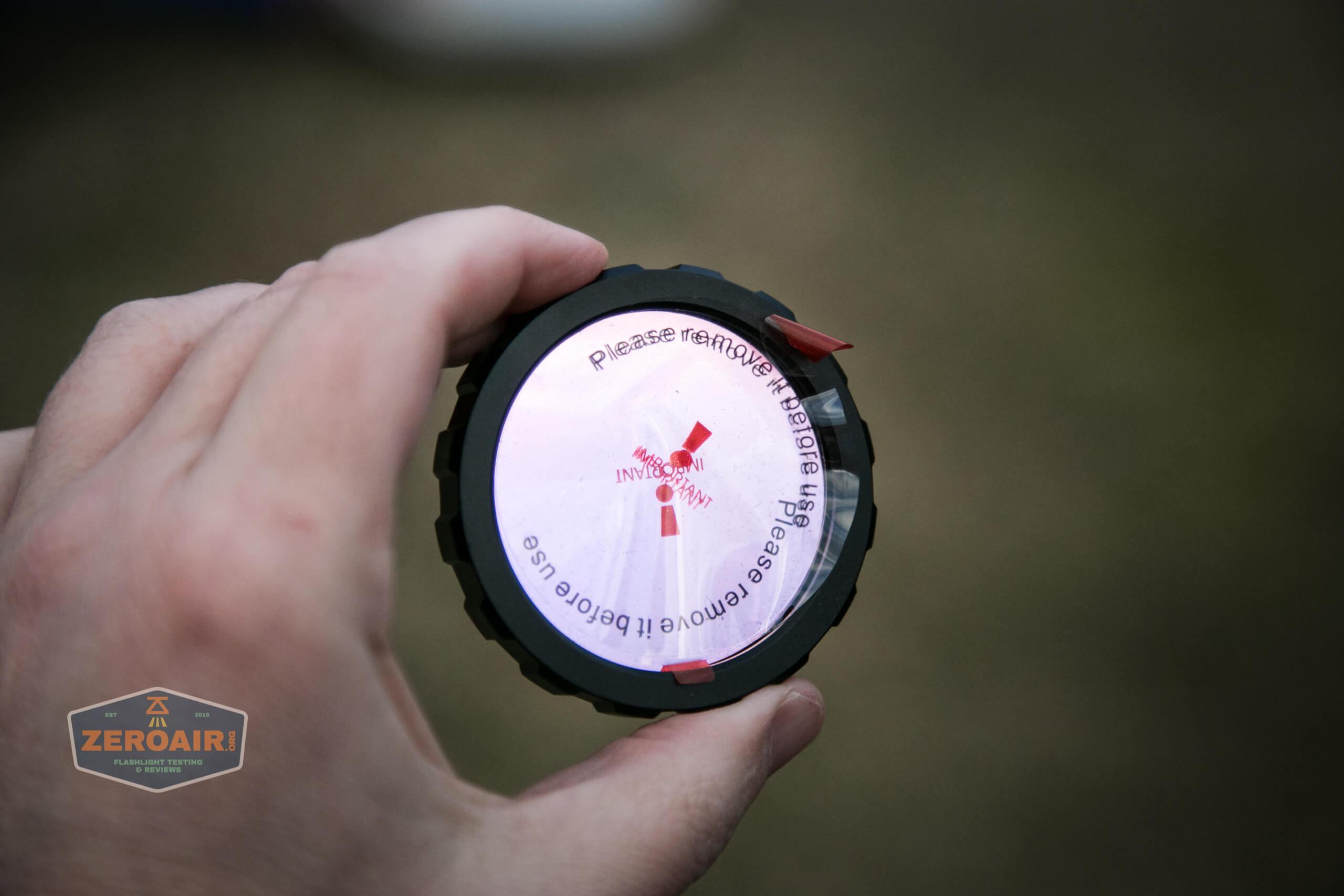 imalent ut90 red lens filter