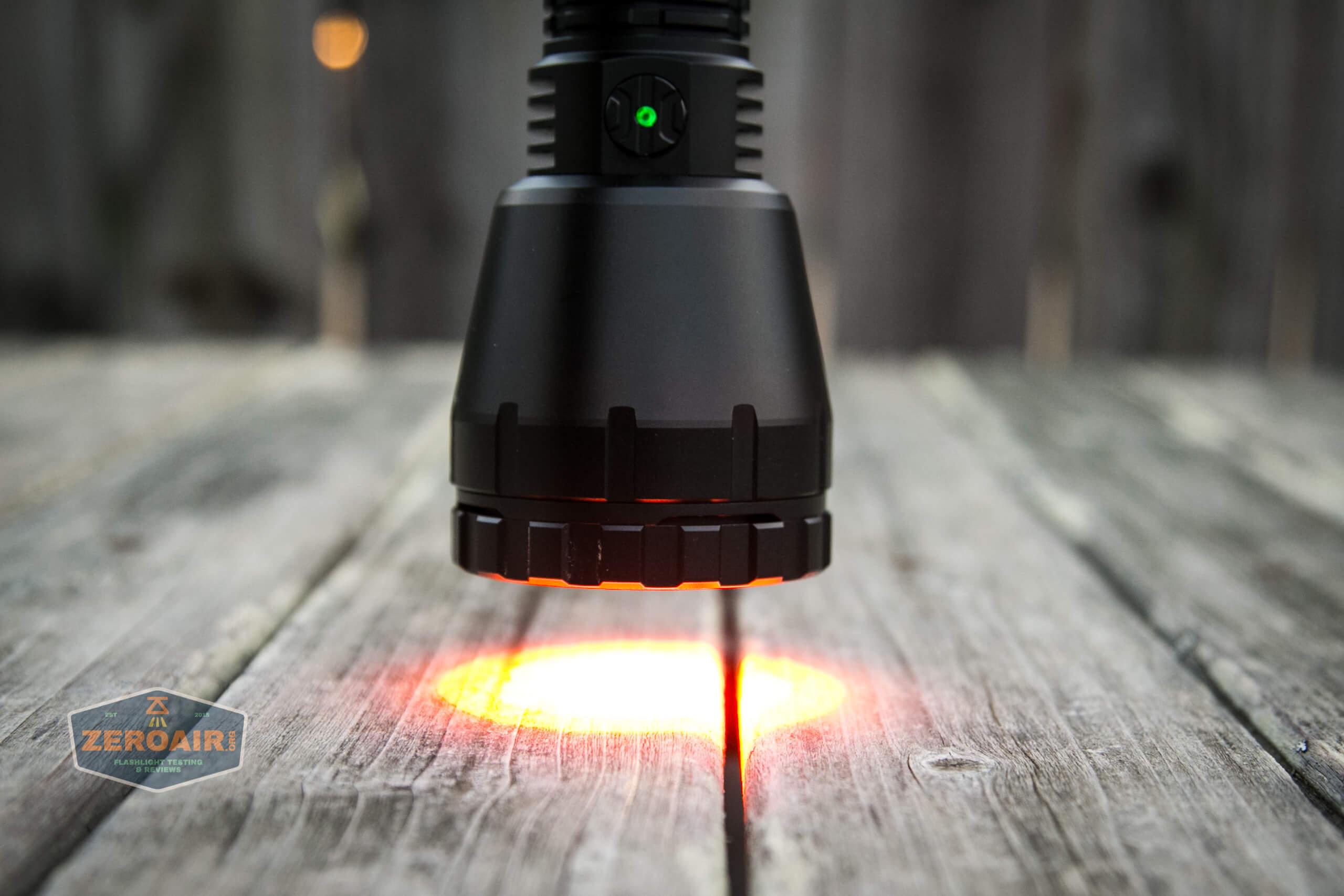 imalent ut90 lens filter installed red