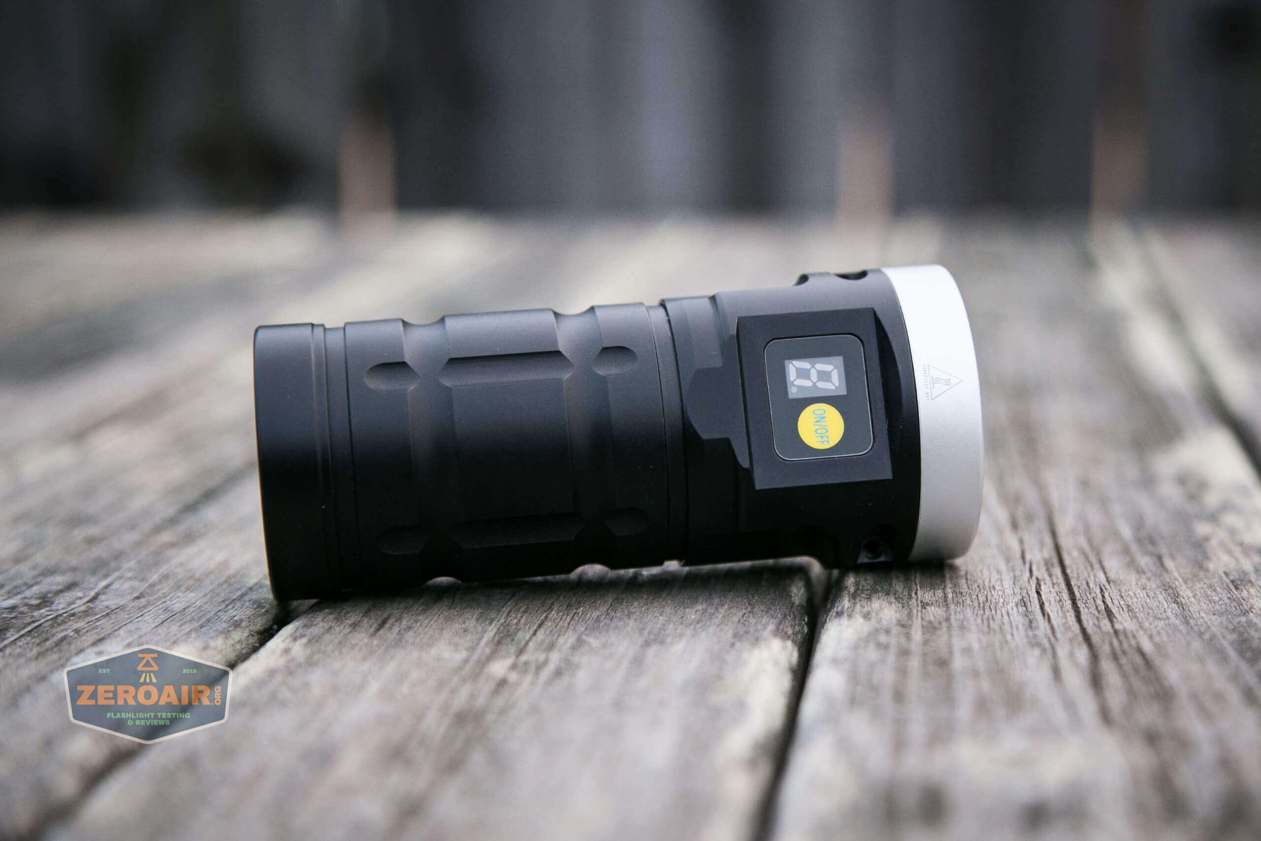 nitebeam x12uv flashlight feature photo