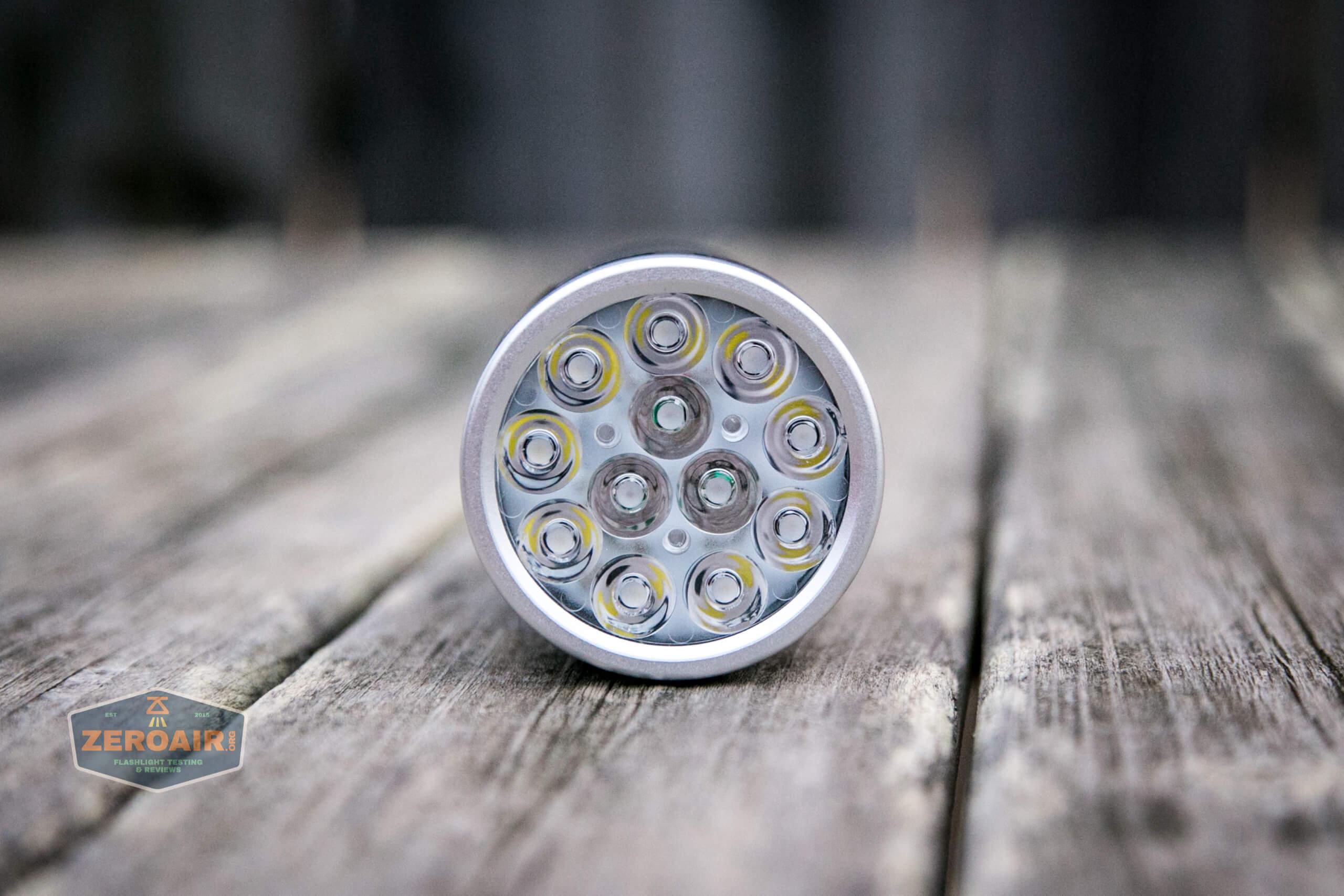 nitebeam x12uv flashlight emitters
