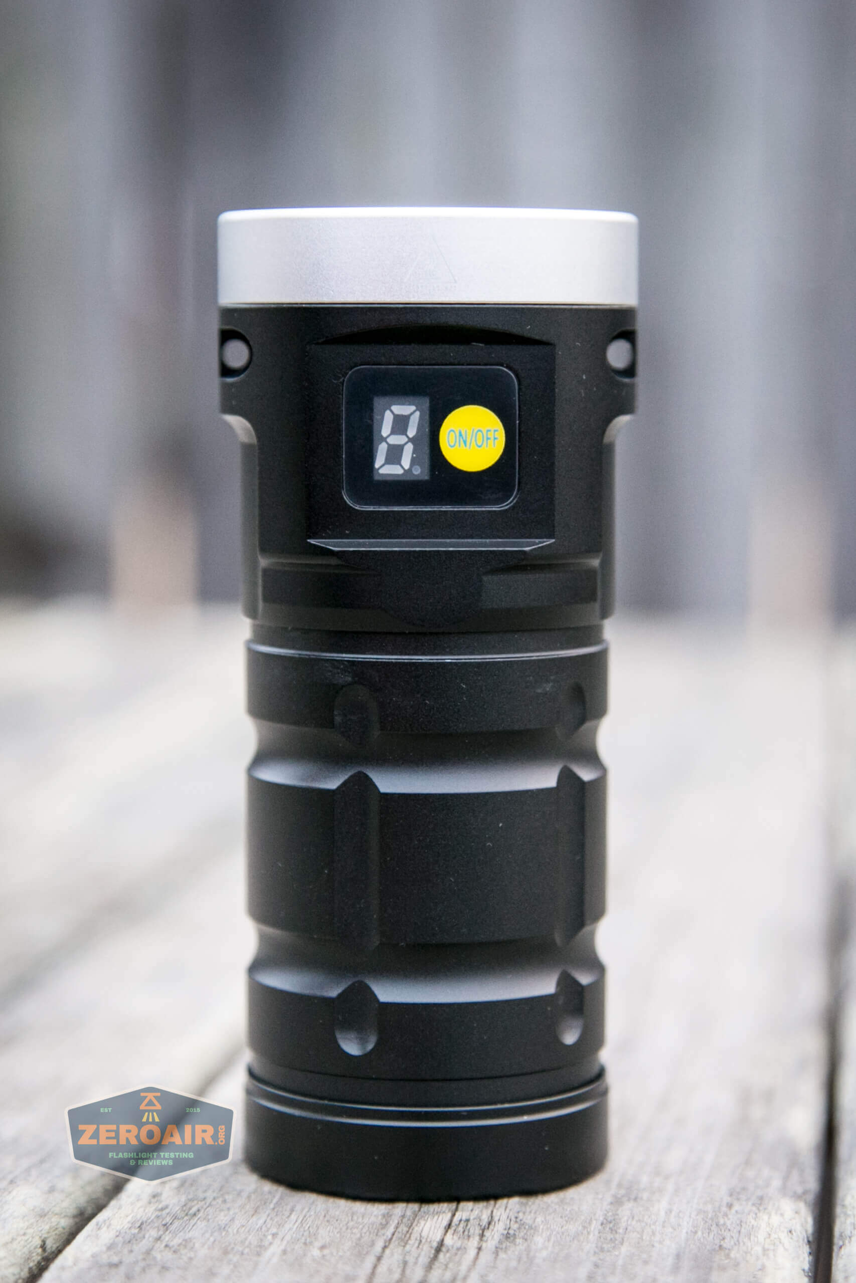 nitebeam x12uv flashlight all sides