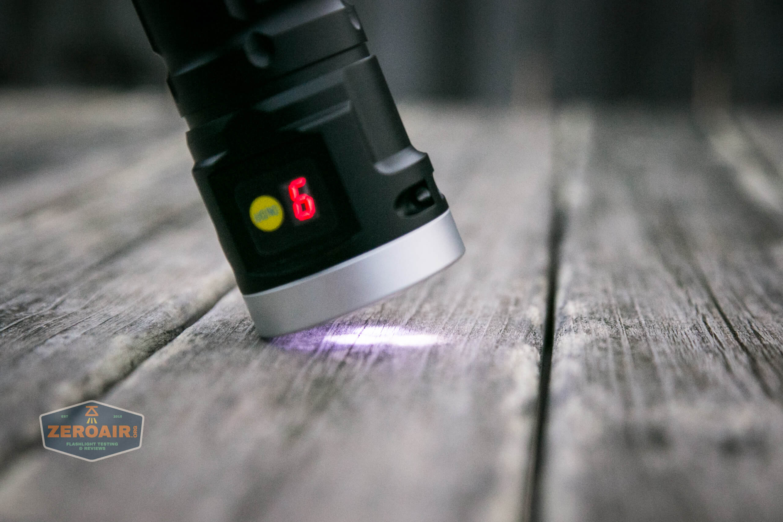 nitebeam x12uv flashlight UV beam