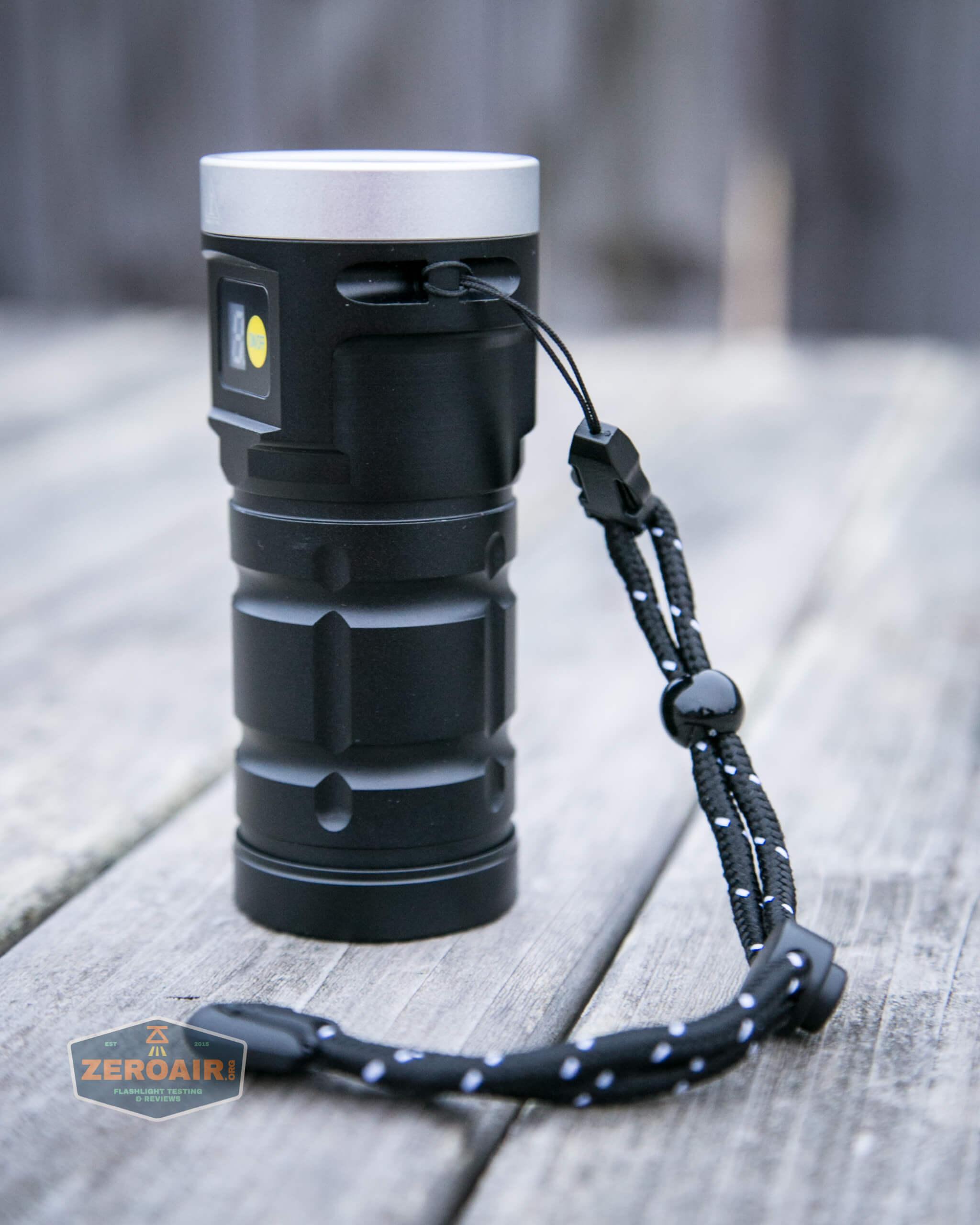 nitebeam x12uv flashlight lanyard