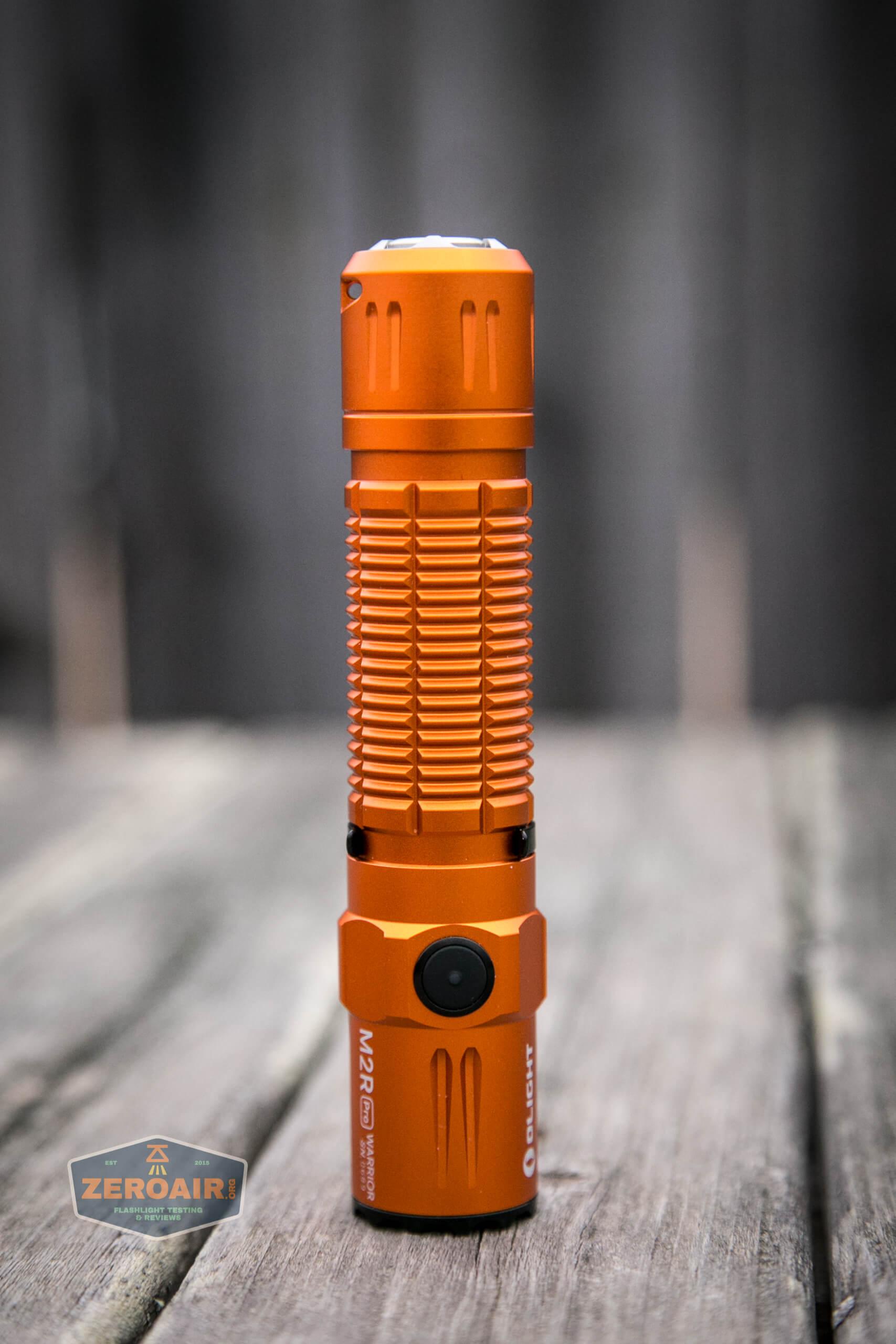 Olight M2R Pro Warrior Orange main four photos