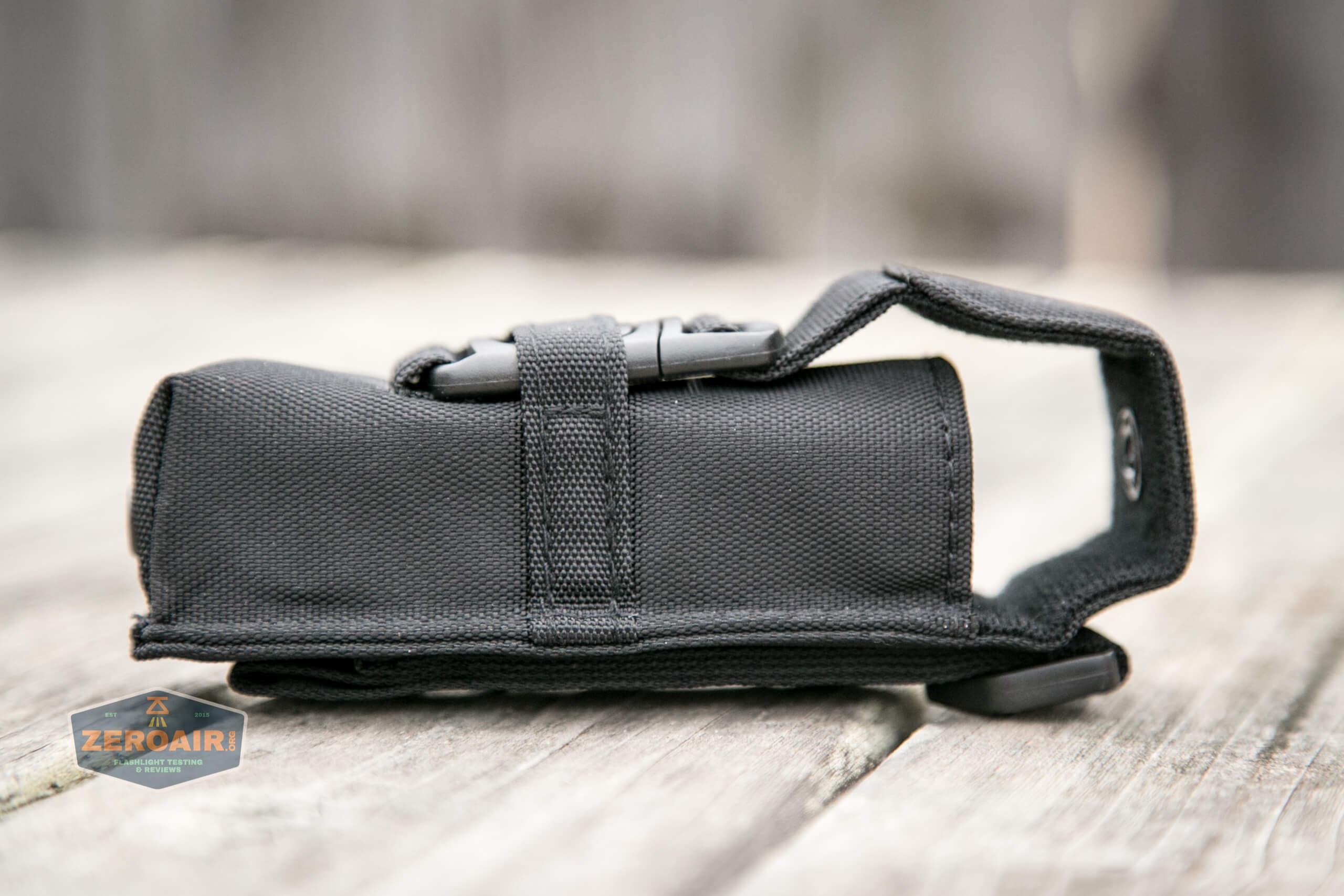 Olight M2R Pro Warrior Orange nylon pouch
