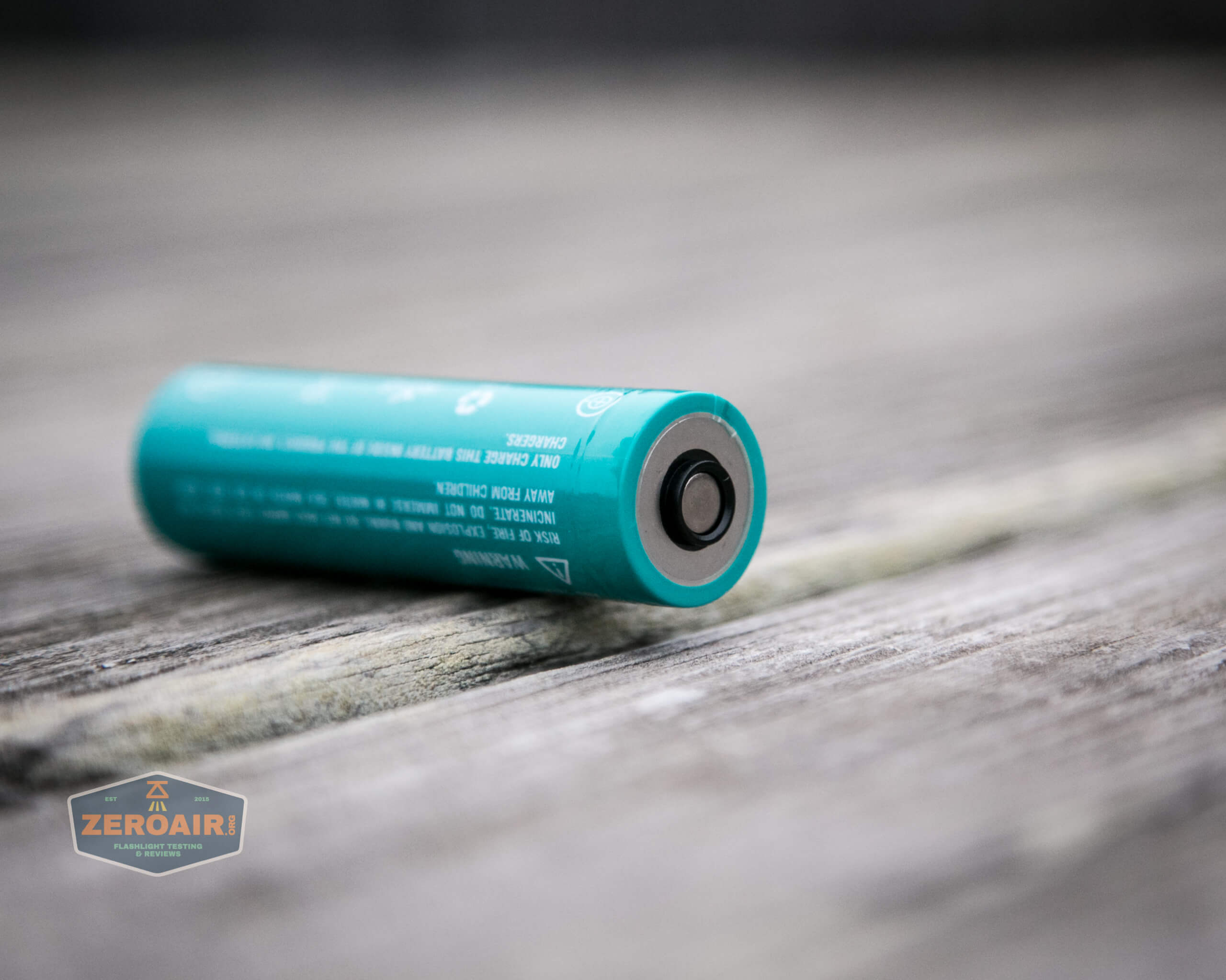 Olight 5000mah 21700 cell positive end with both contacts