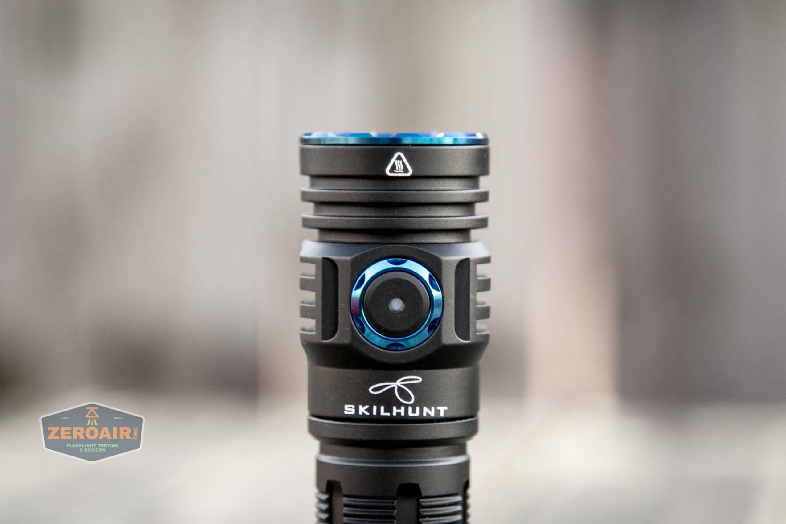 skilhunt m300 18650 flashlight e-switch