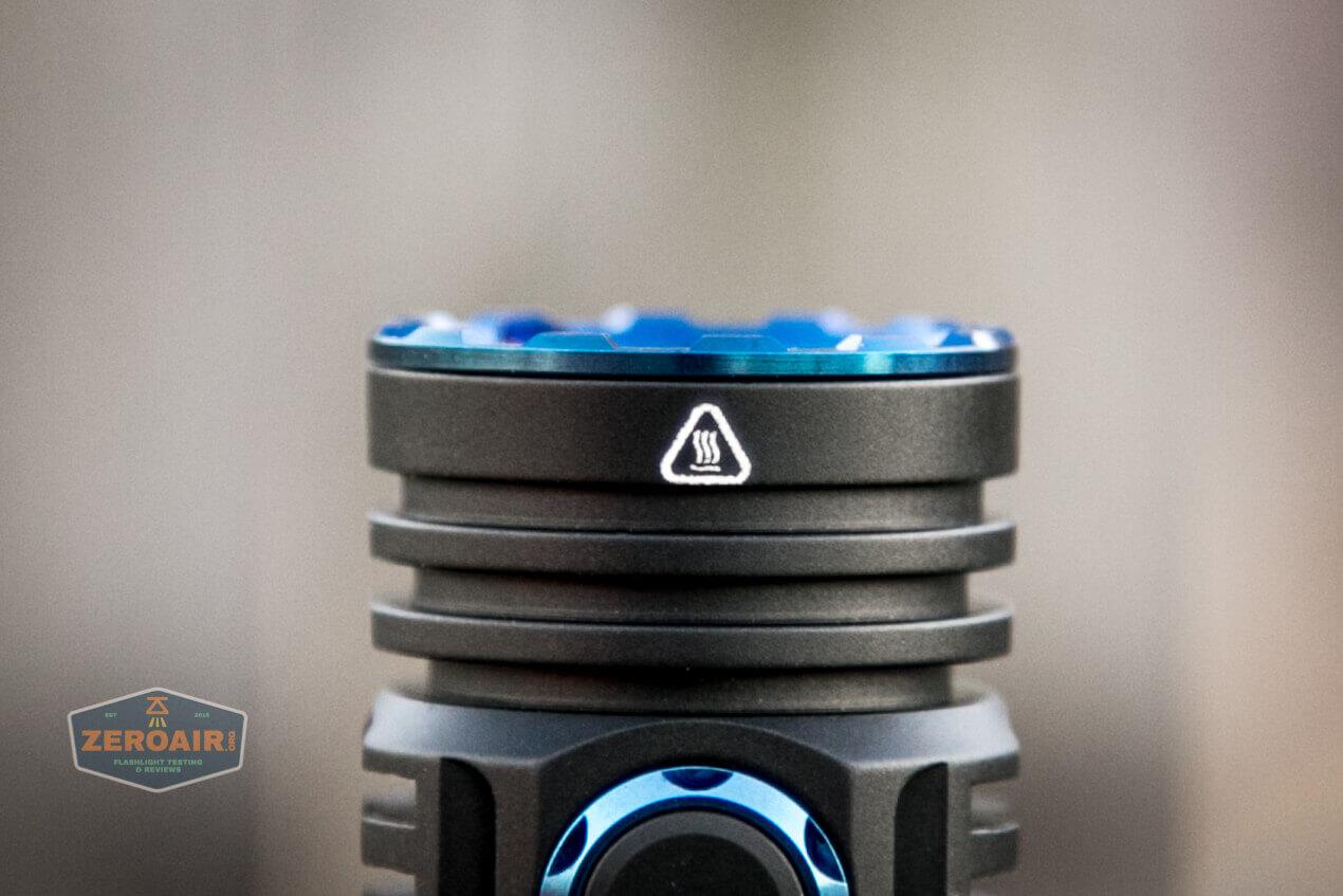 skilhunt m300 18650 flashlight bezel