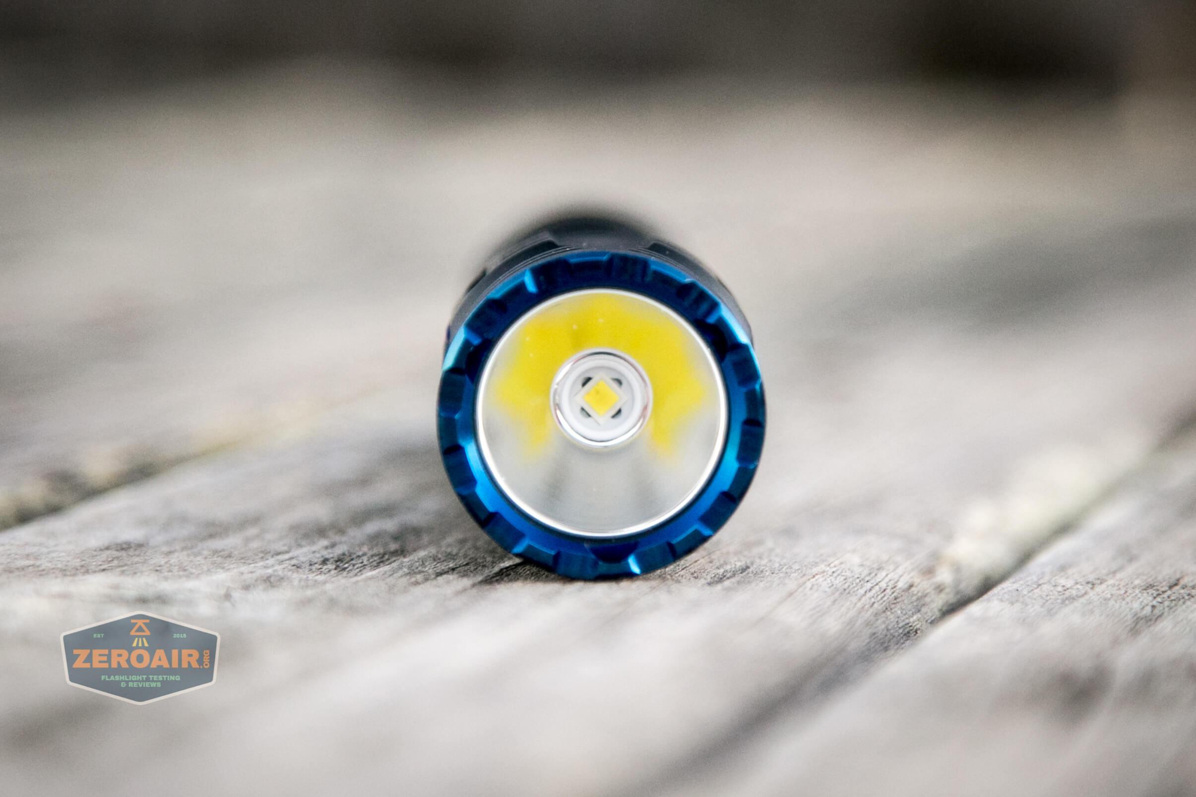 skilhunt m300 18650 flashlight emitter