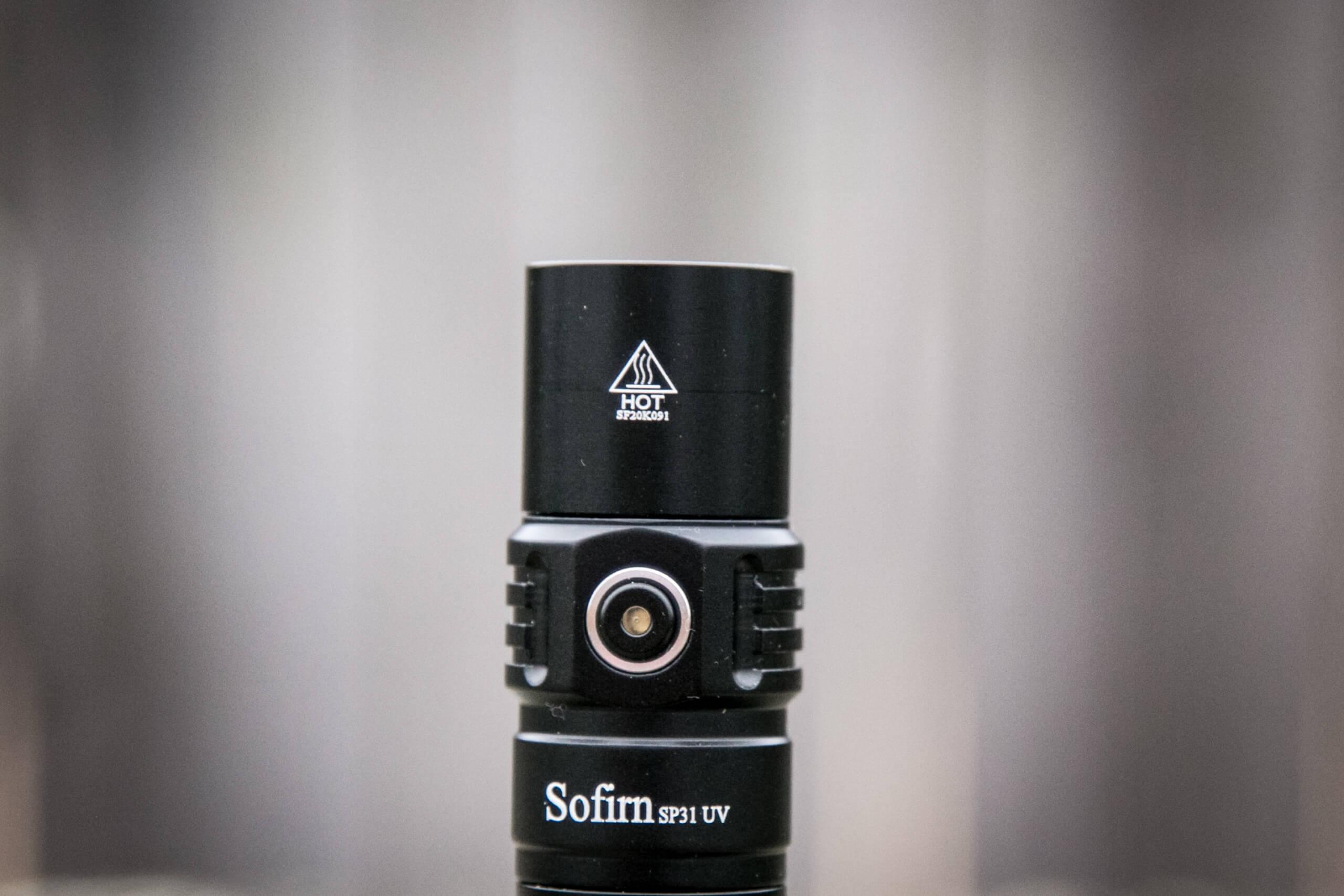sofirn sp31uv ultraviolet 18650 flashlight head