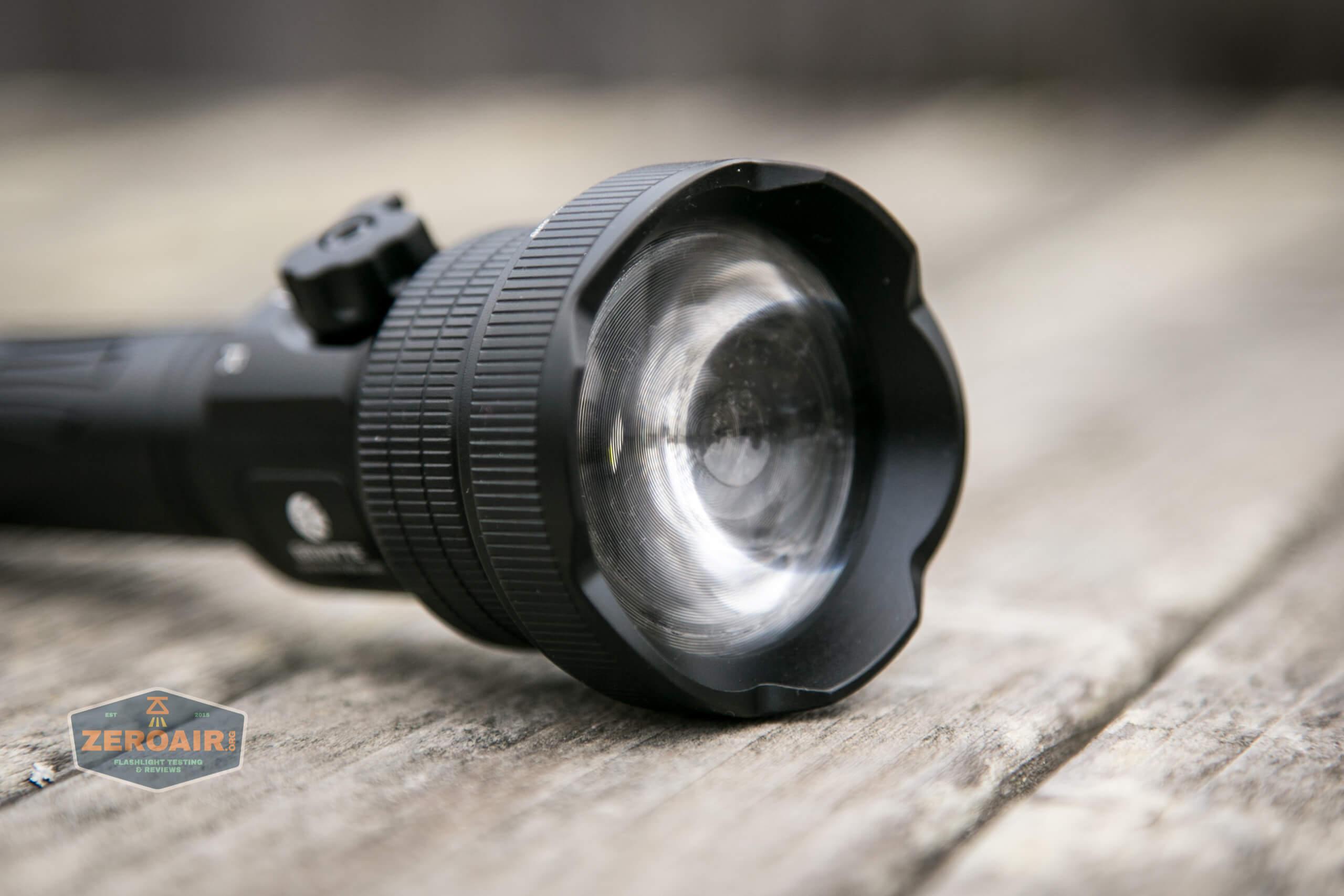 Brinyte T28 Artemis Zoomy lens