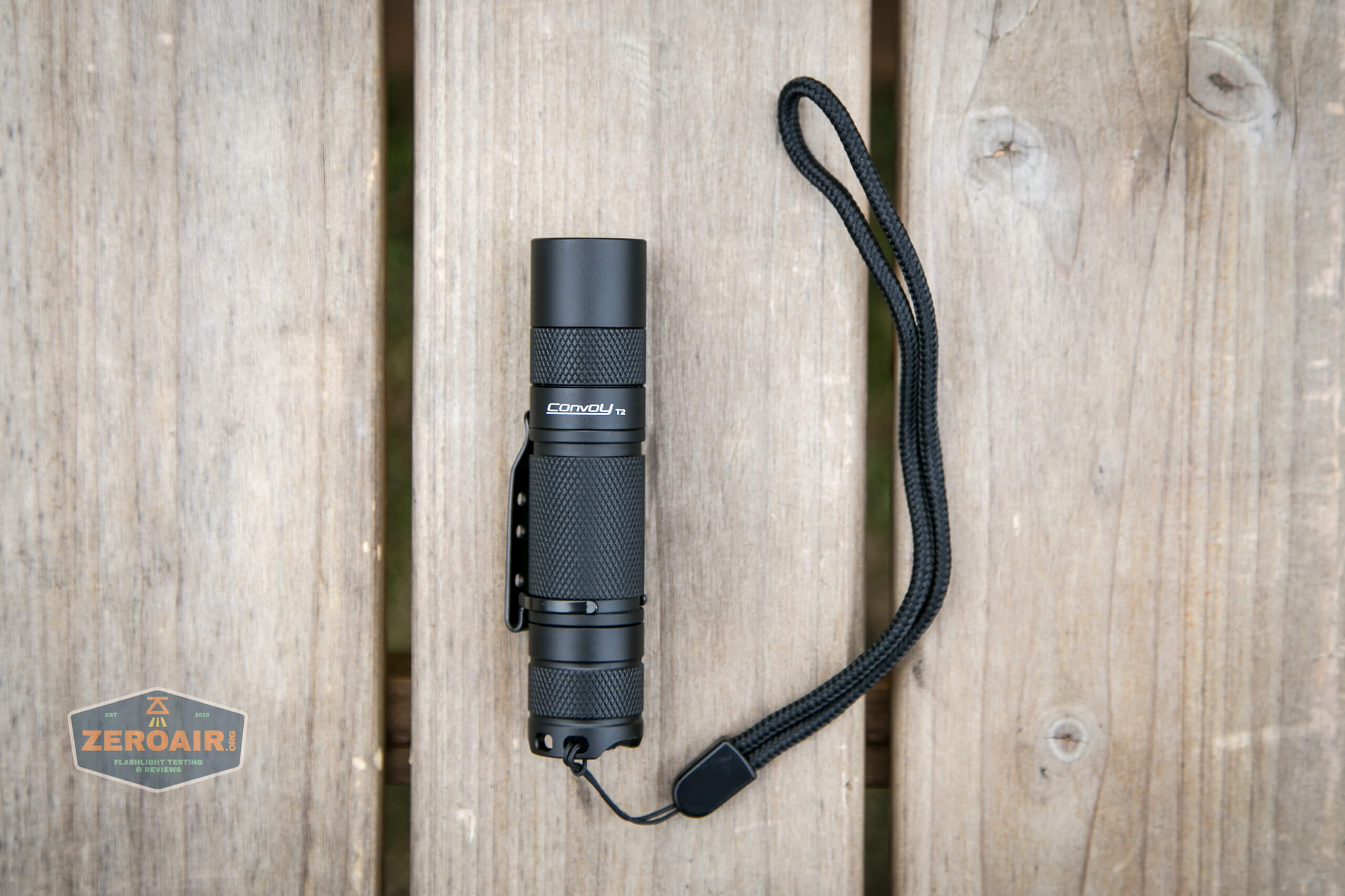 convoy t2 updated 14500/AA flashlight what's included