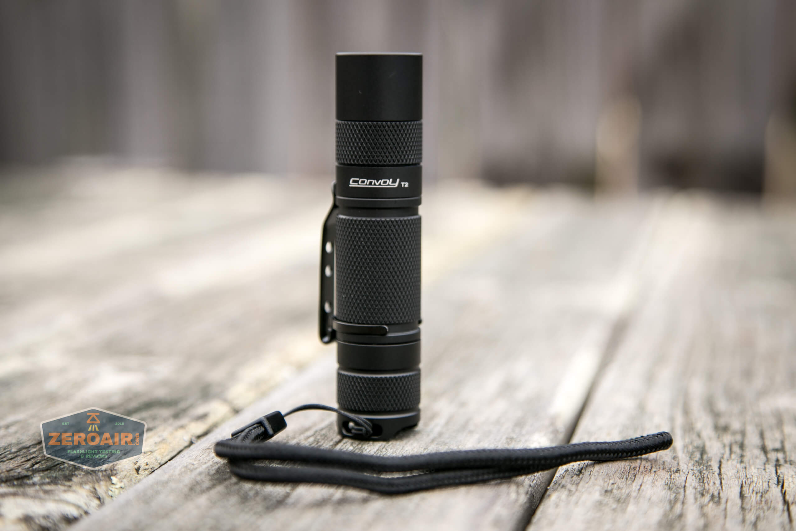 convoy t2 updated 14500/AA flashlight tailstanding