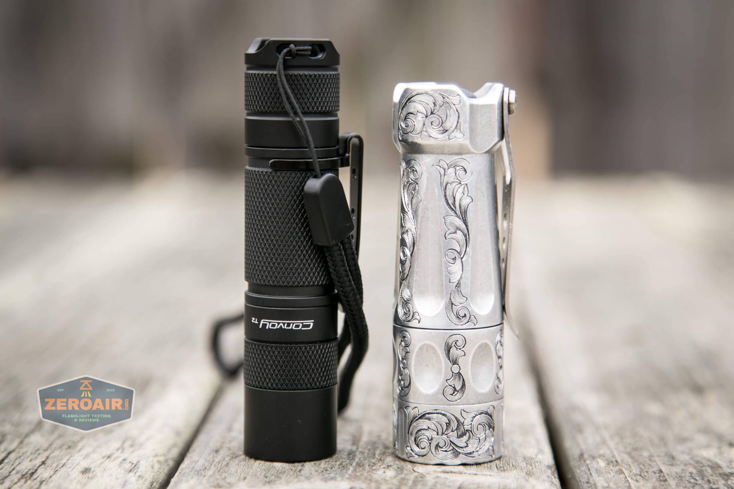 convoy t2 updated 14500/AA flashlight beside torchlab boss 35