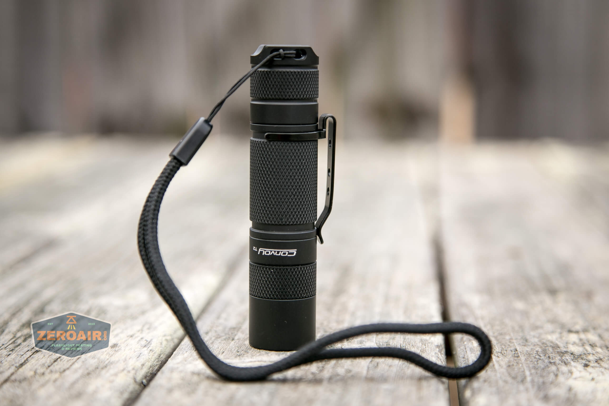 convoy t2 updated 14500/AA flashlight headstanding