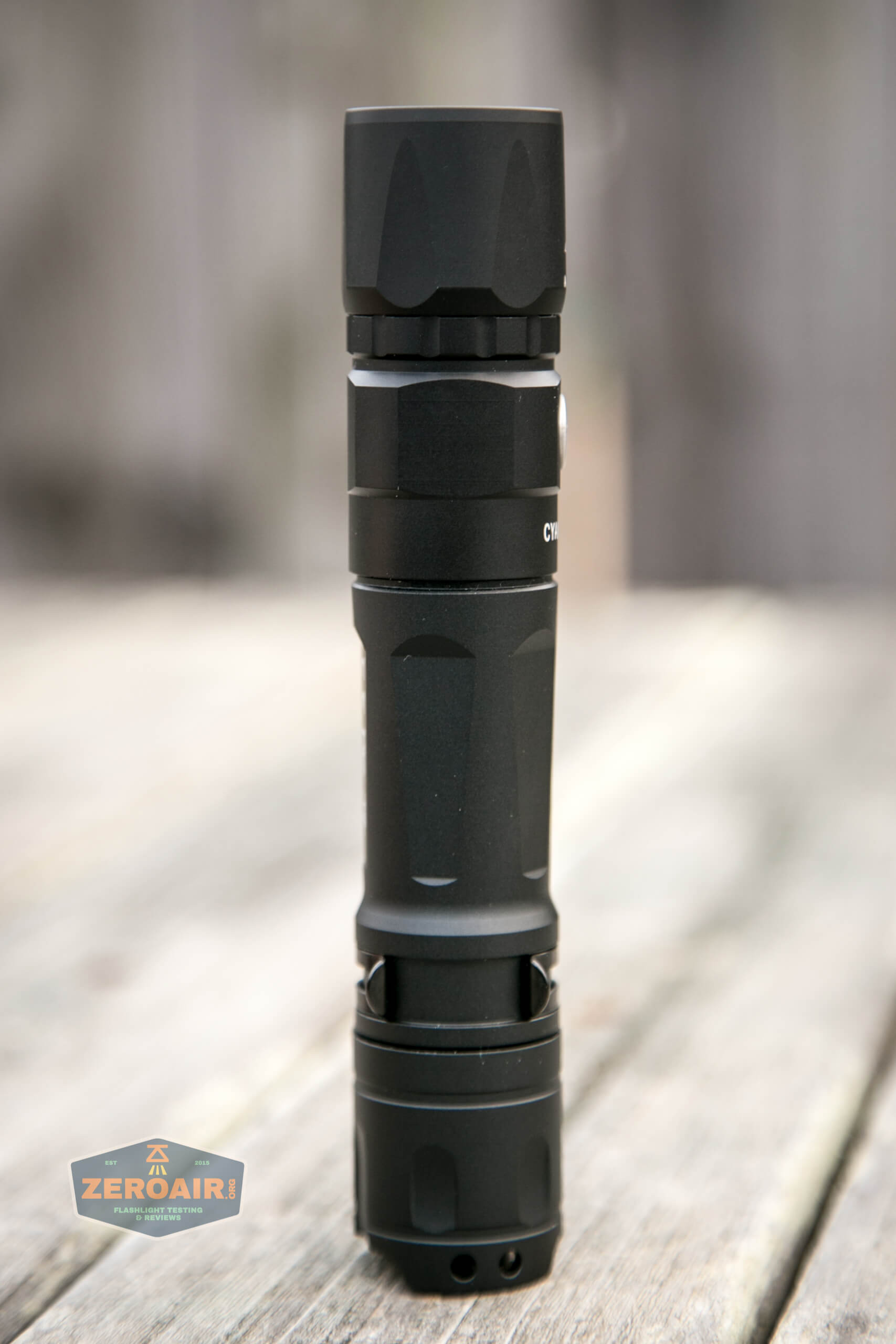 Cyansky P25 Flashlight four sides