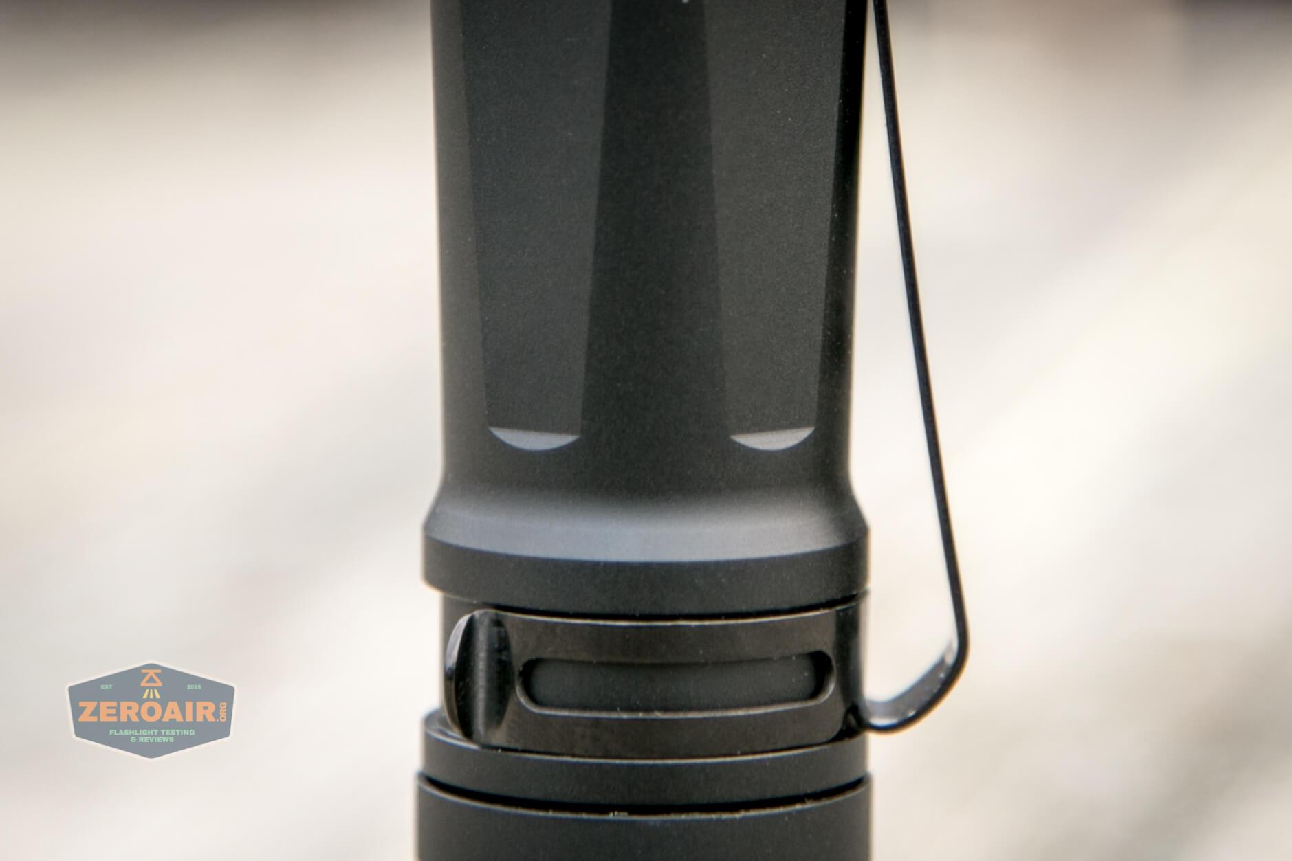 Cyansky P25 Flashlight top down cell tube