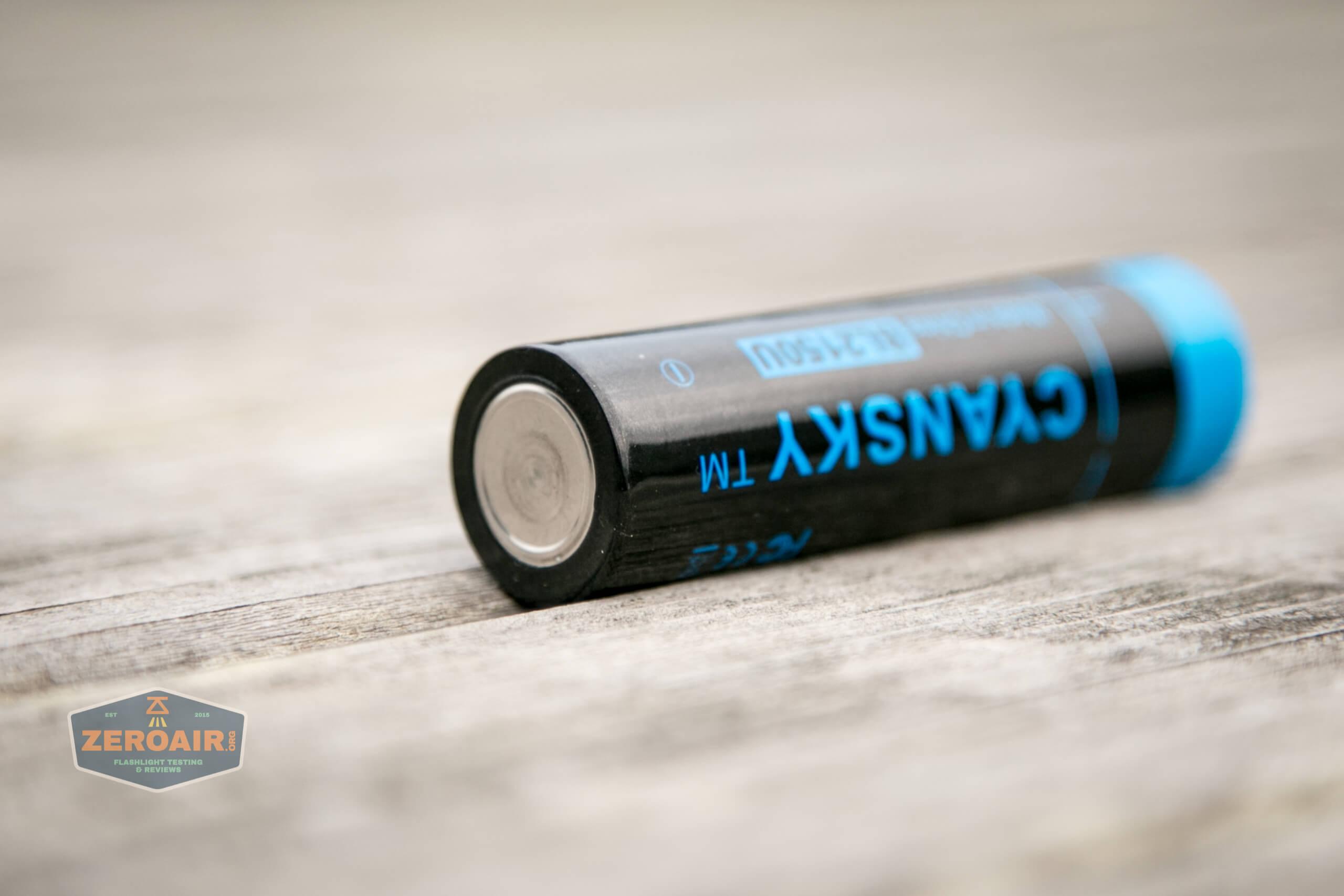 Cyansky P25 Flashlight included 5000mah 21700