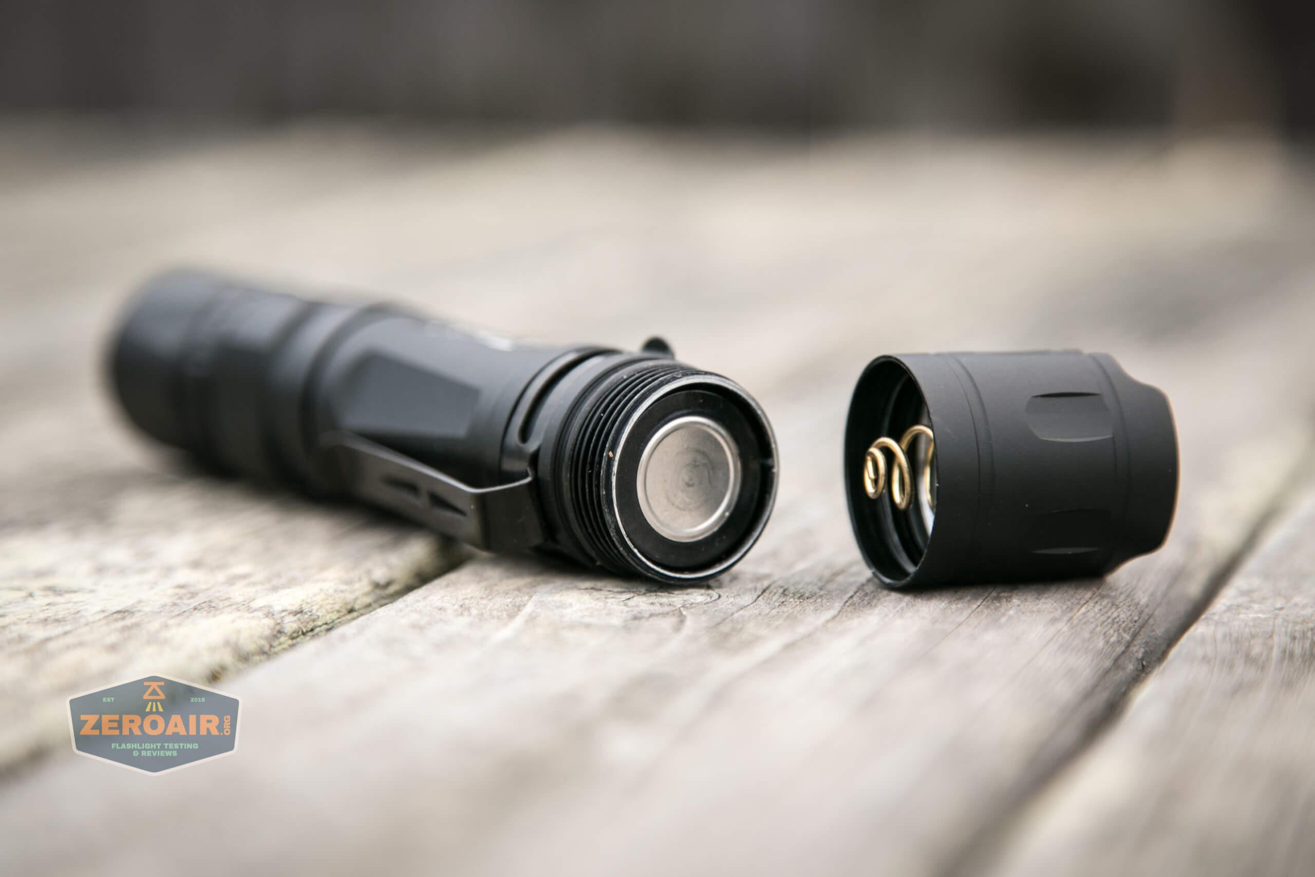 Cyansky P25 Flashlight cell installed