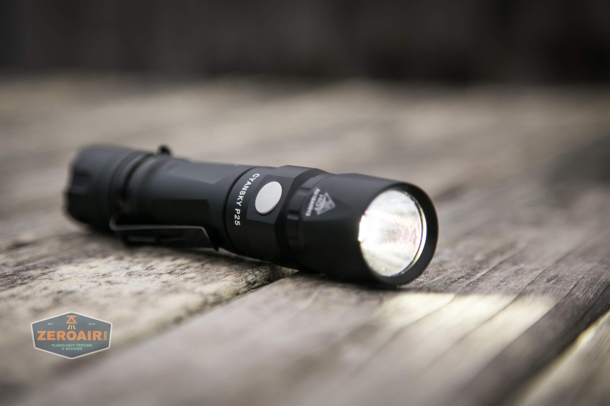 Cyansky P25 Flashlight on