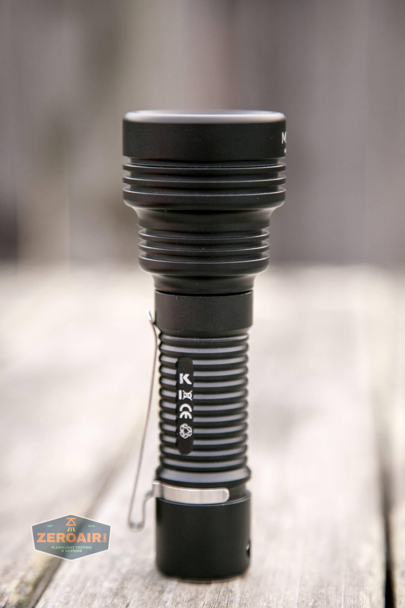 Manker MC13 thrower flashlight 18650 main four photos