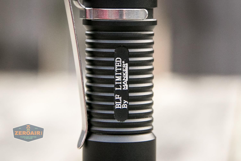 Manker MC13 thrower flashlight 18650 body