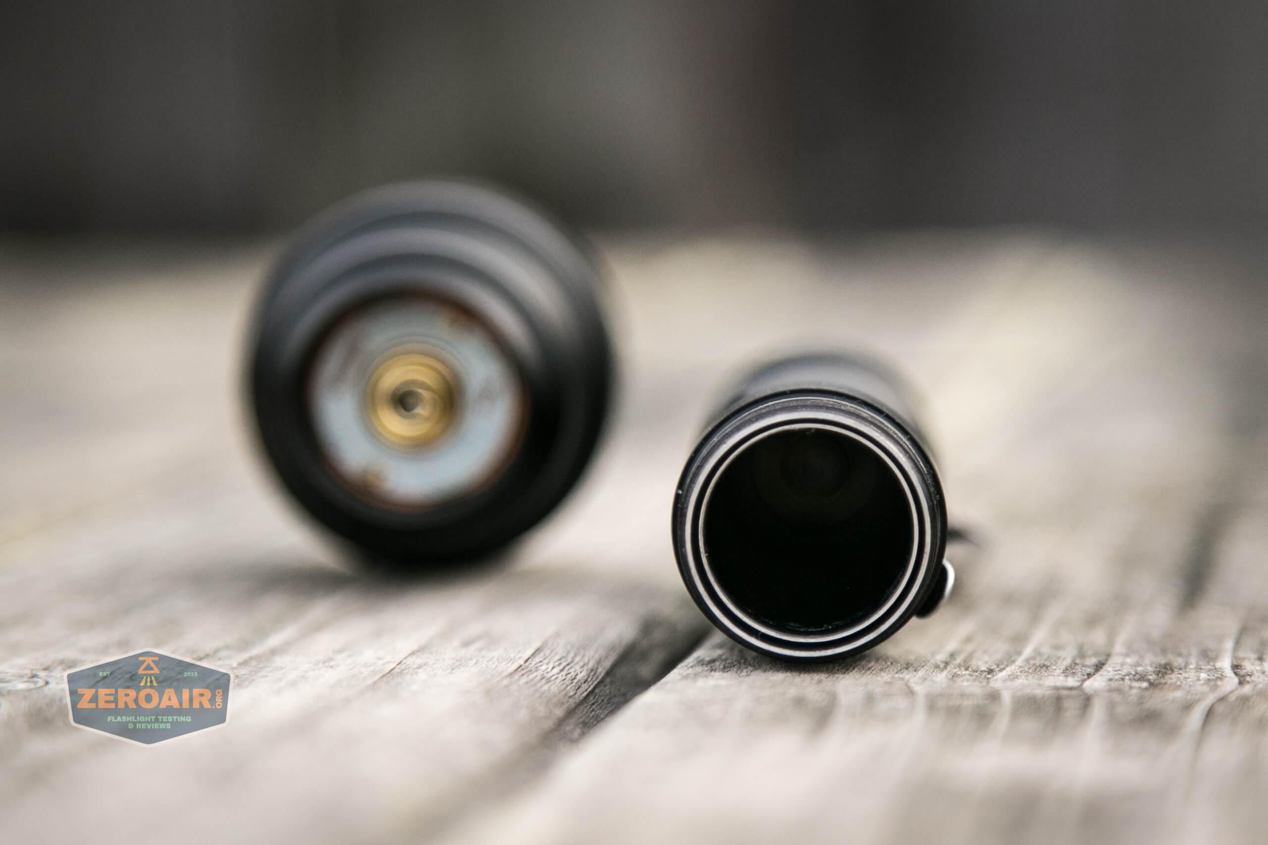 Manker MC13 thrower flashlight 18350 cell tube sleeve