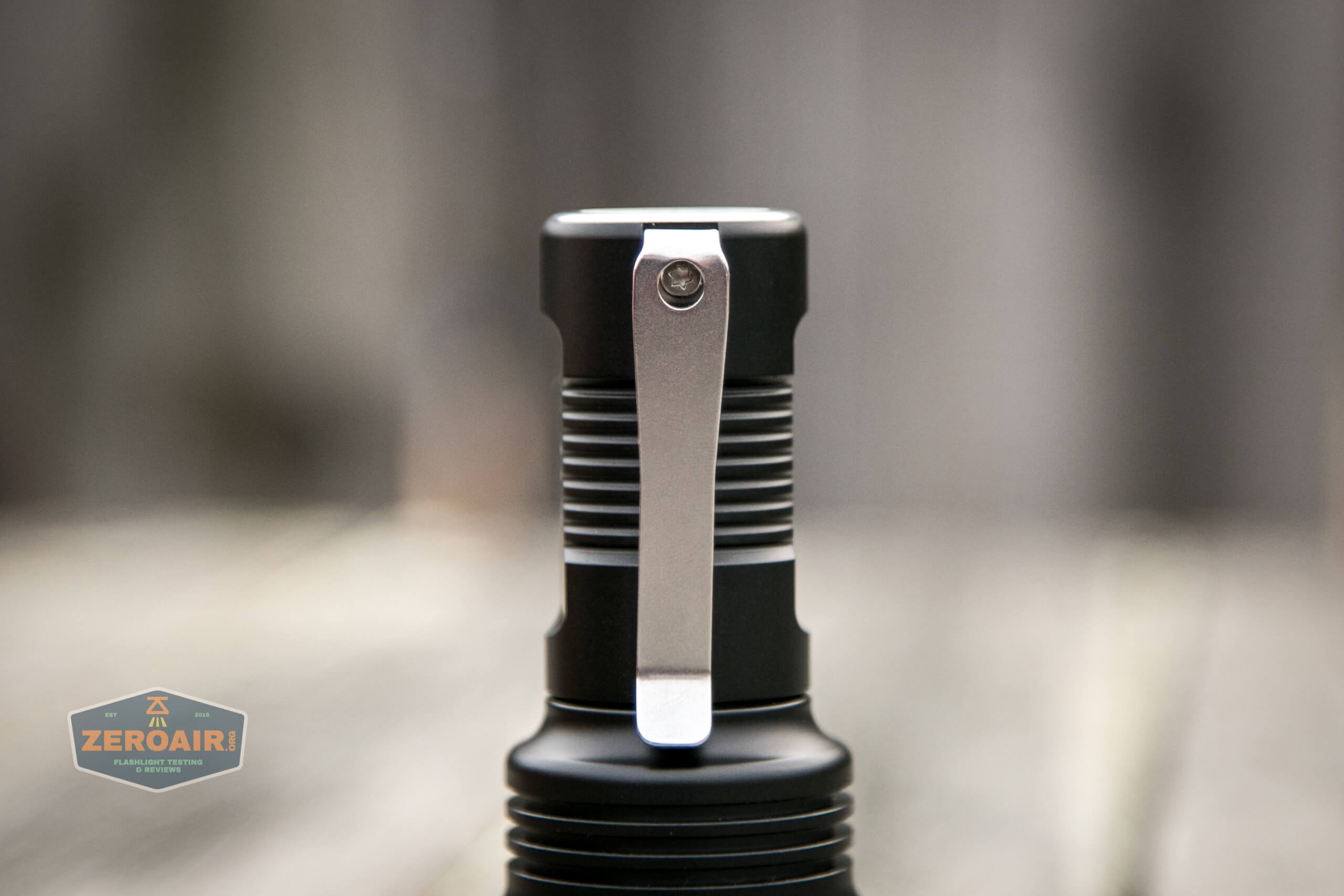 Manker MC13 thrower flashlight 18350 pocket clip