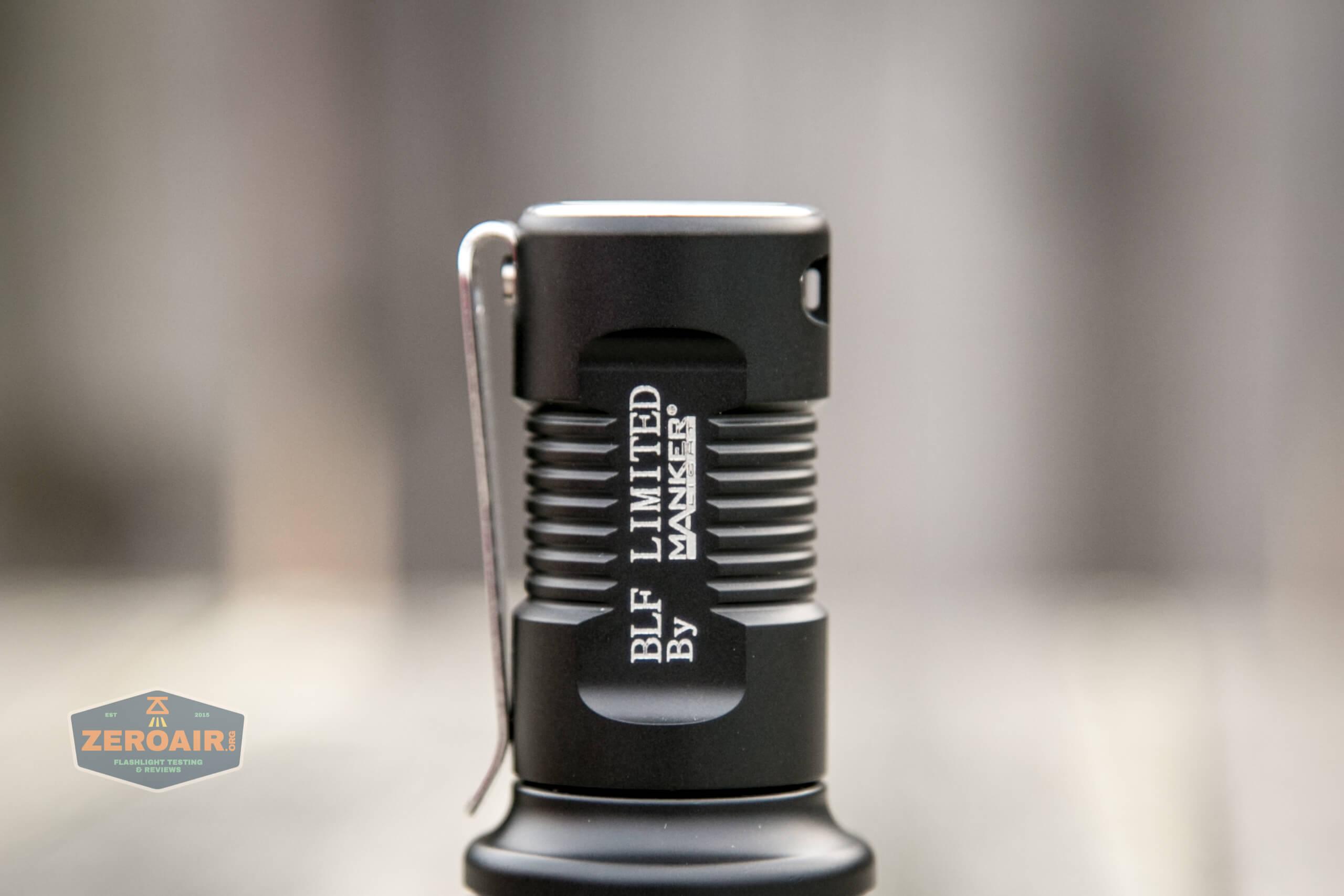 Manker MC13 thrower flashlight 18350 tailcap
