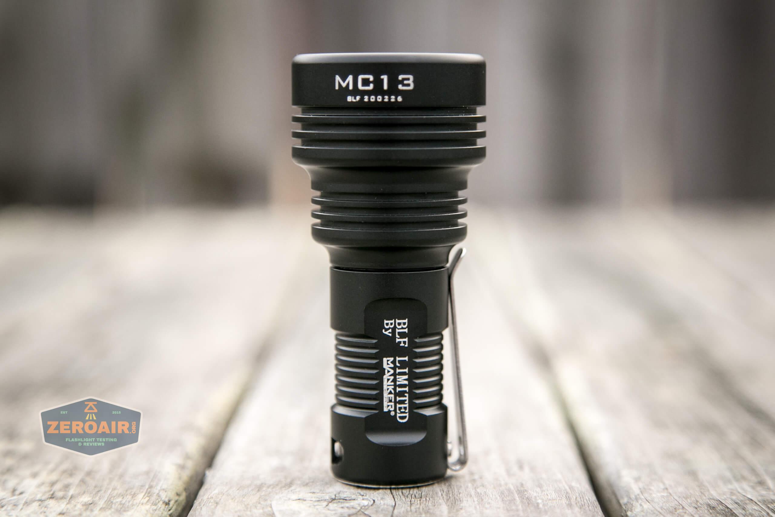 Manker MC13 thrower flashlight 18350