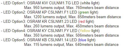 Manker MC13 thrower flashlight versions