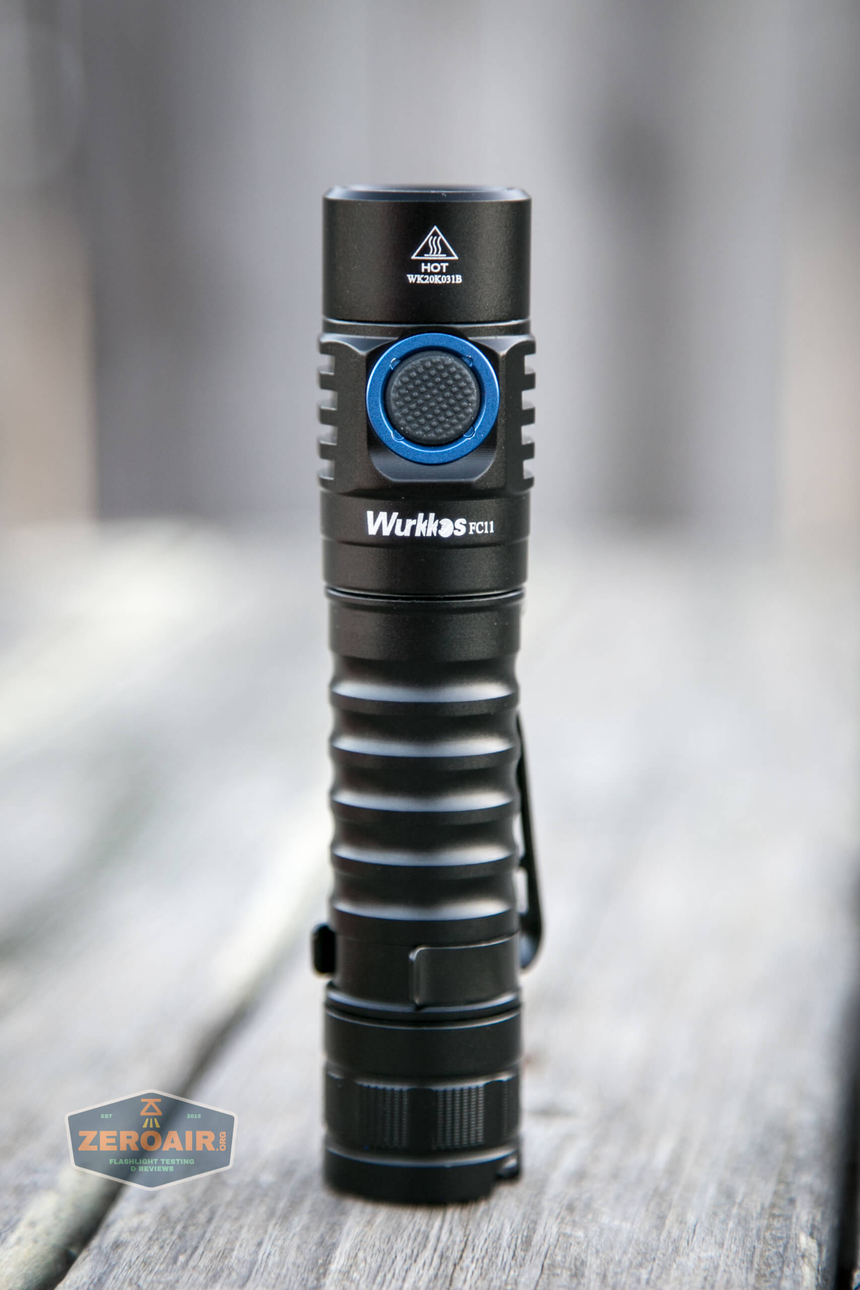 wurkkos fc11 flashlight standing