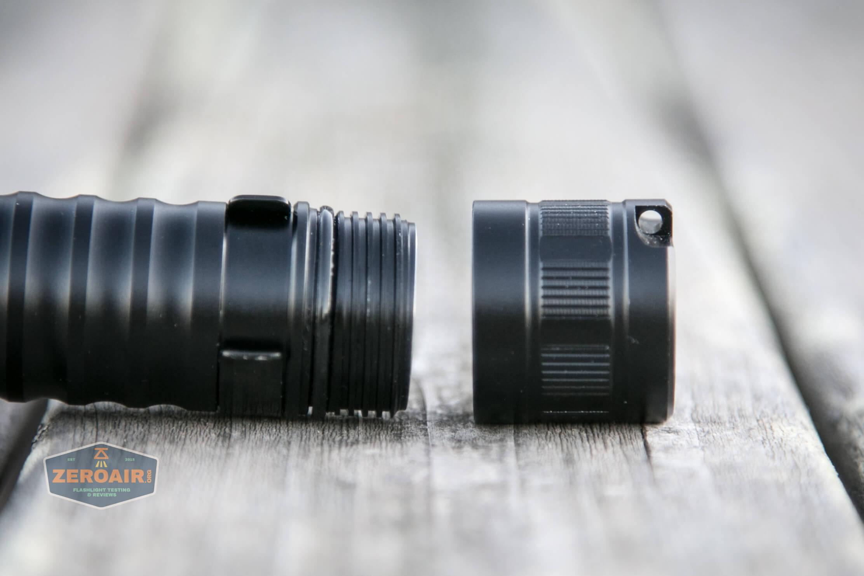 wurkkos fc11 flashlight tailcap off