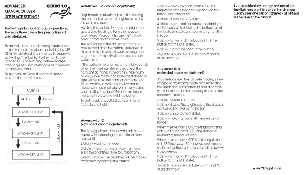 gekko engineering manual
