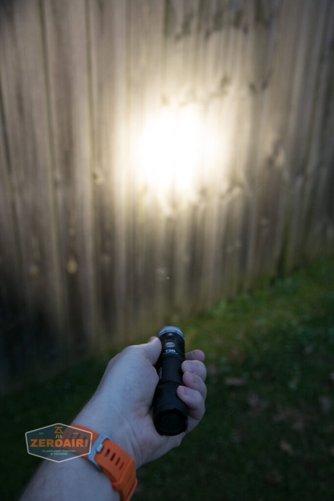 beamshot while in use