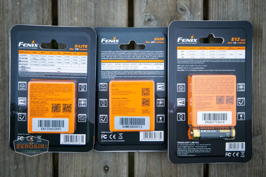 fenix packages