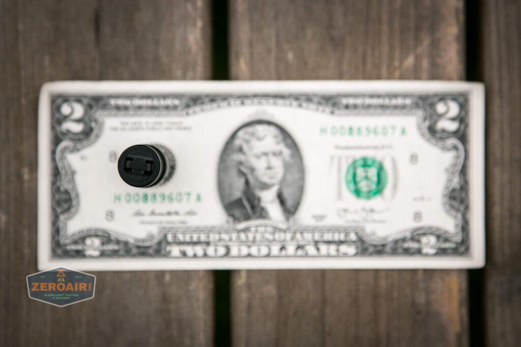 on two dollar bill