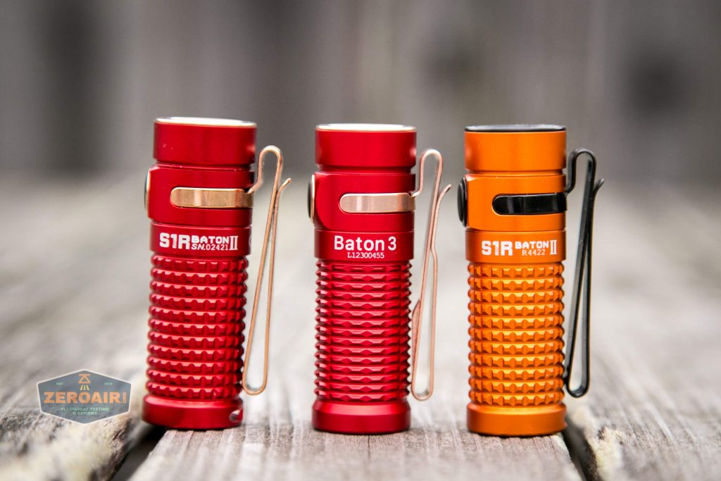 olight baton 3 premium with other olight batons