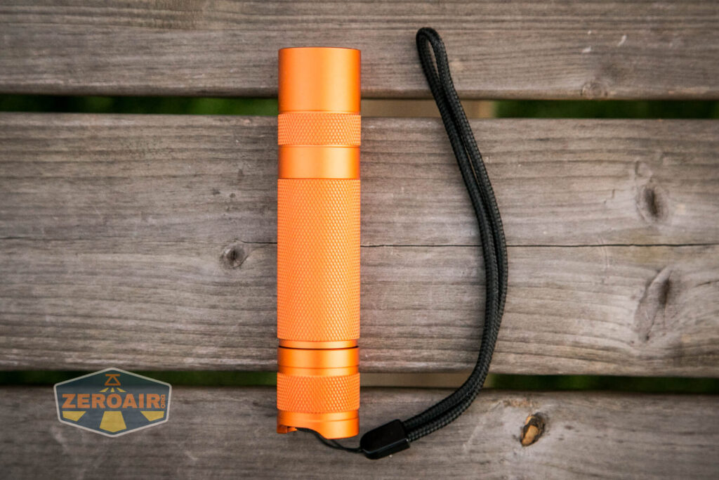 Convoy S21A 21700 Flashlight what's included