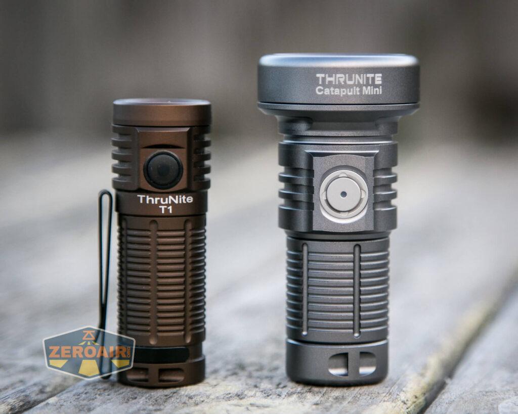 beside other thrunite 18350 flashlight