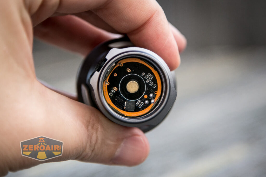 brass button in head
