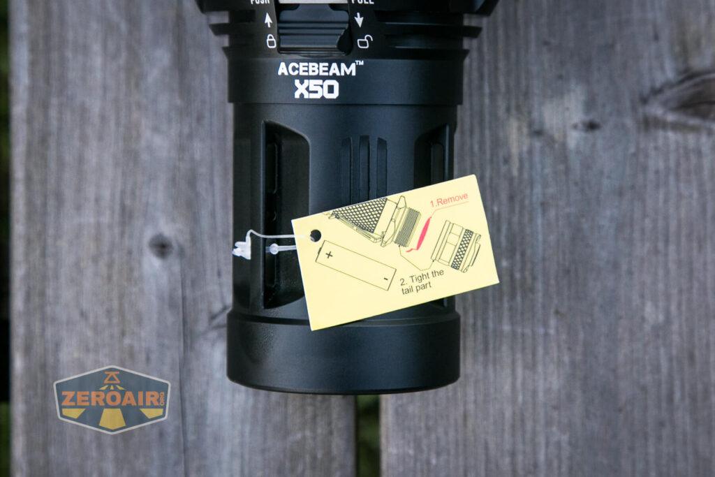 Acebeam X50 Searchlight