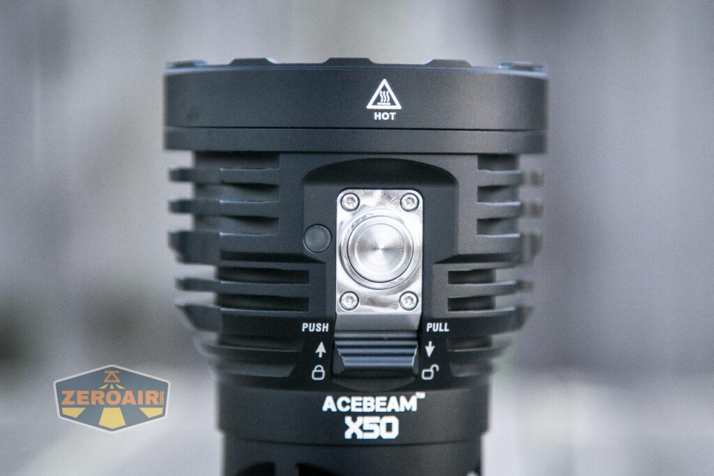 Acebeam X50 Searchlight e-switch