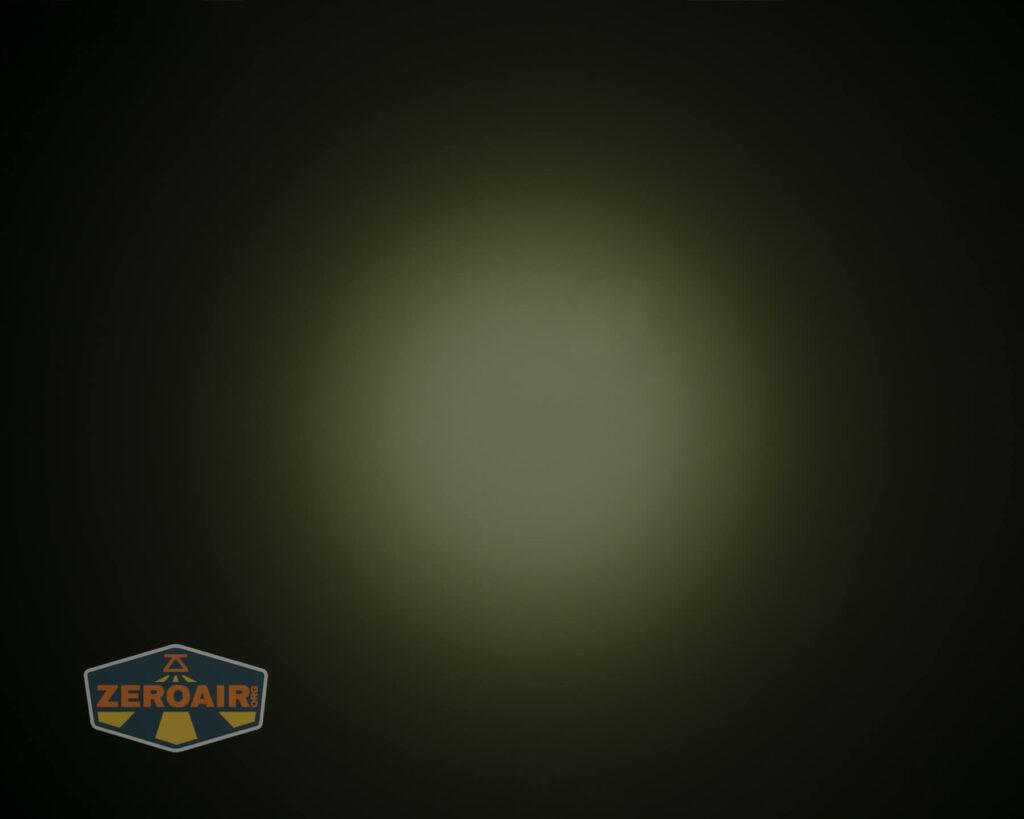 Acebeam X50 Searchlight beamshot ceiling